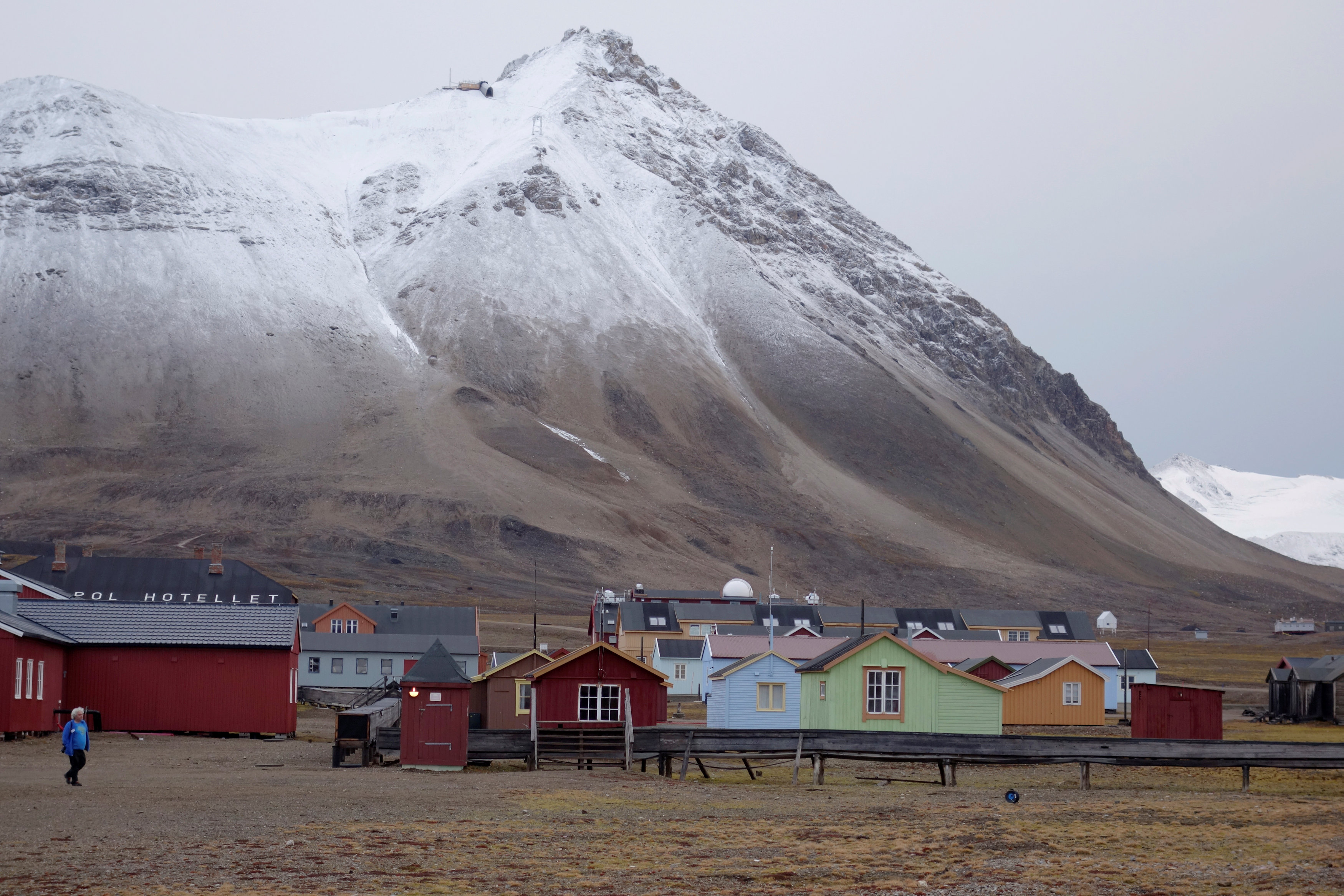 A Svalbard fjord is showing big changes from Arctic warming