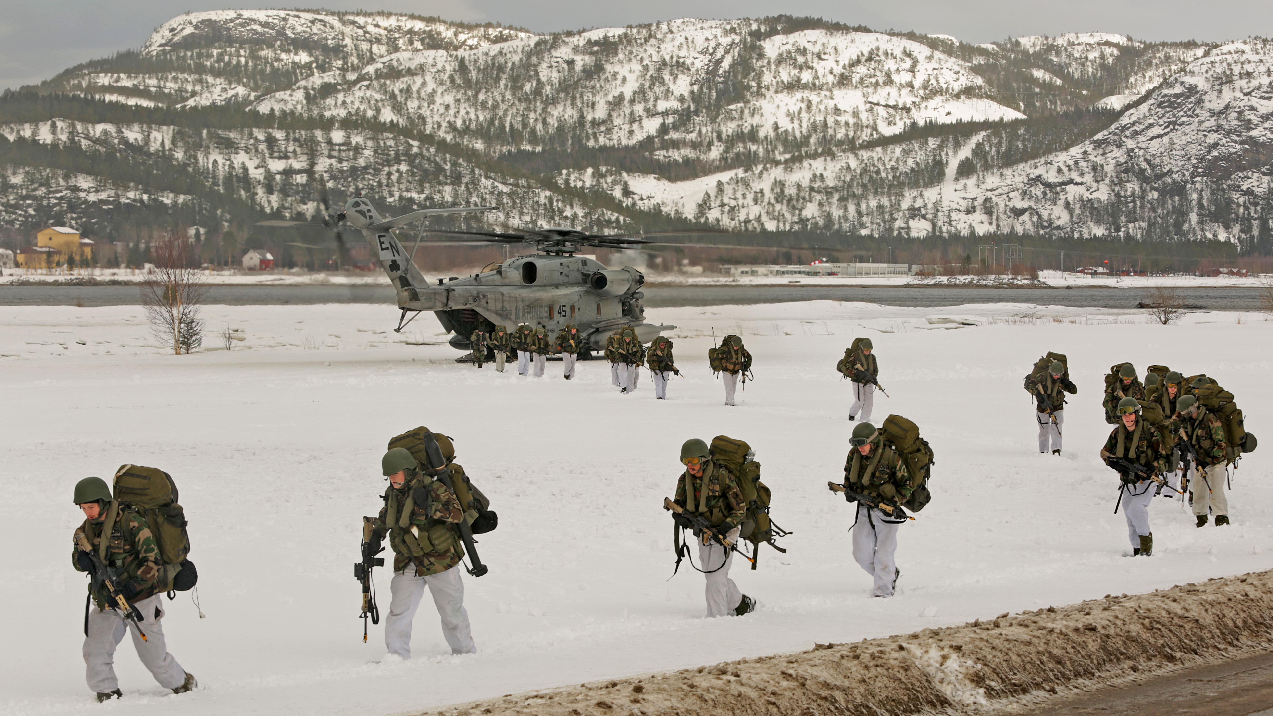 Some 330 U.S. Marines to be temporarily stationed in Norway in 2017