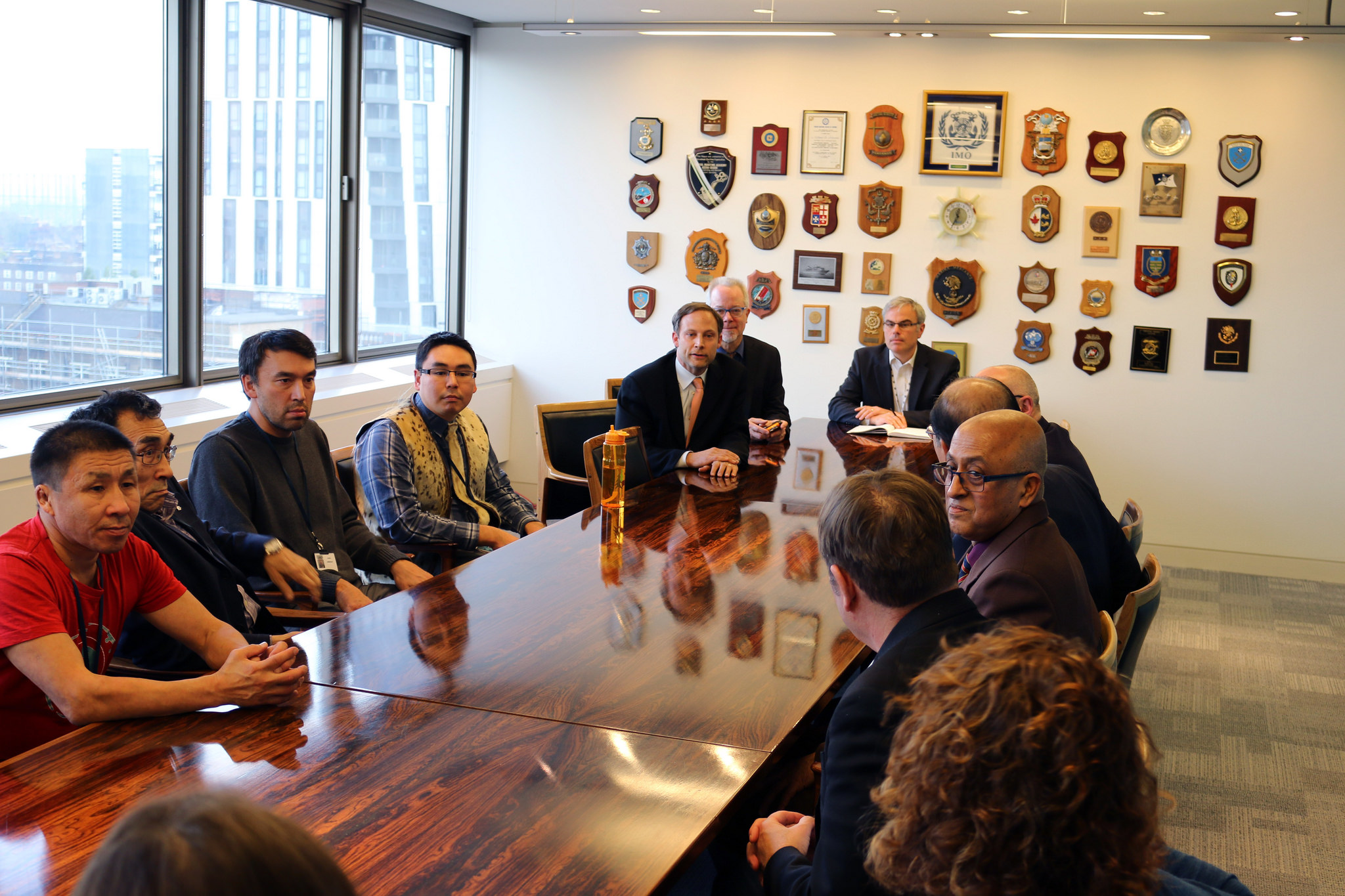 In visit to shipping regulator, Arctic indigenous groups call for end to heavy fuel oil in the region