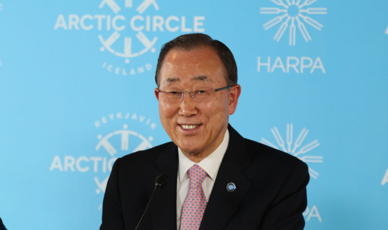 In accepting Arctic prize, Ban Ki-Moon urges focus on indigenous peoples' contributions to climate fight