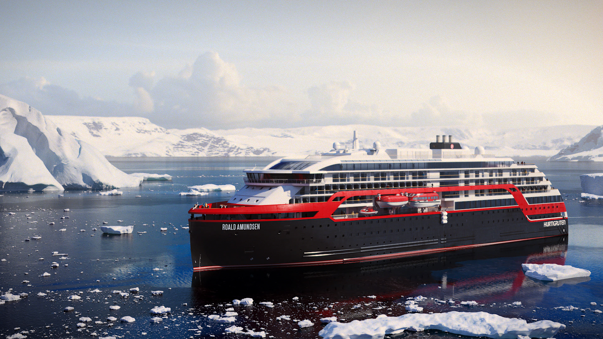Hurtigruten to name two new expedition ships after polar explorers