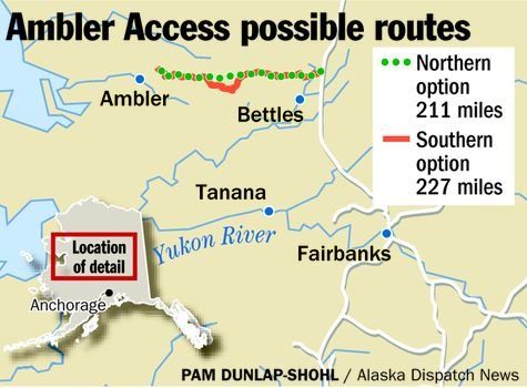 A proposed mining access road in Alaska's Arctic could harm subsistence opportunities for local residents, study says
