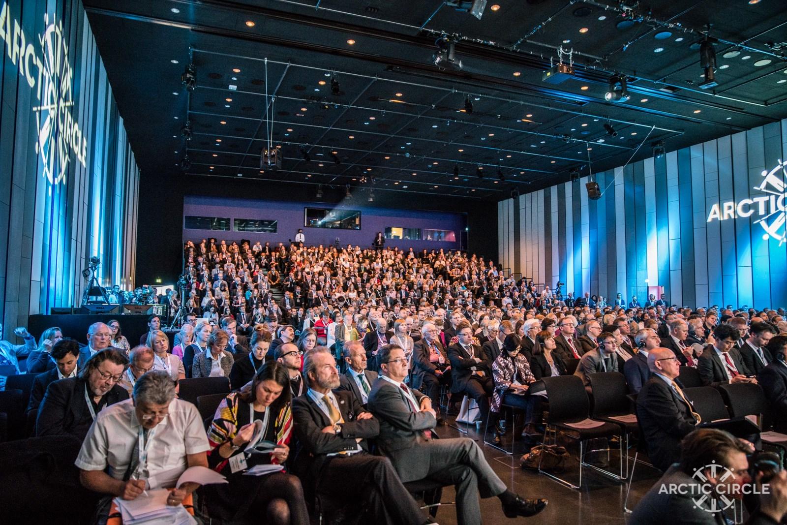 Arctic Circle Assembly, Reykjavik, Iceland, October 2016. (Arctic Circle)