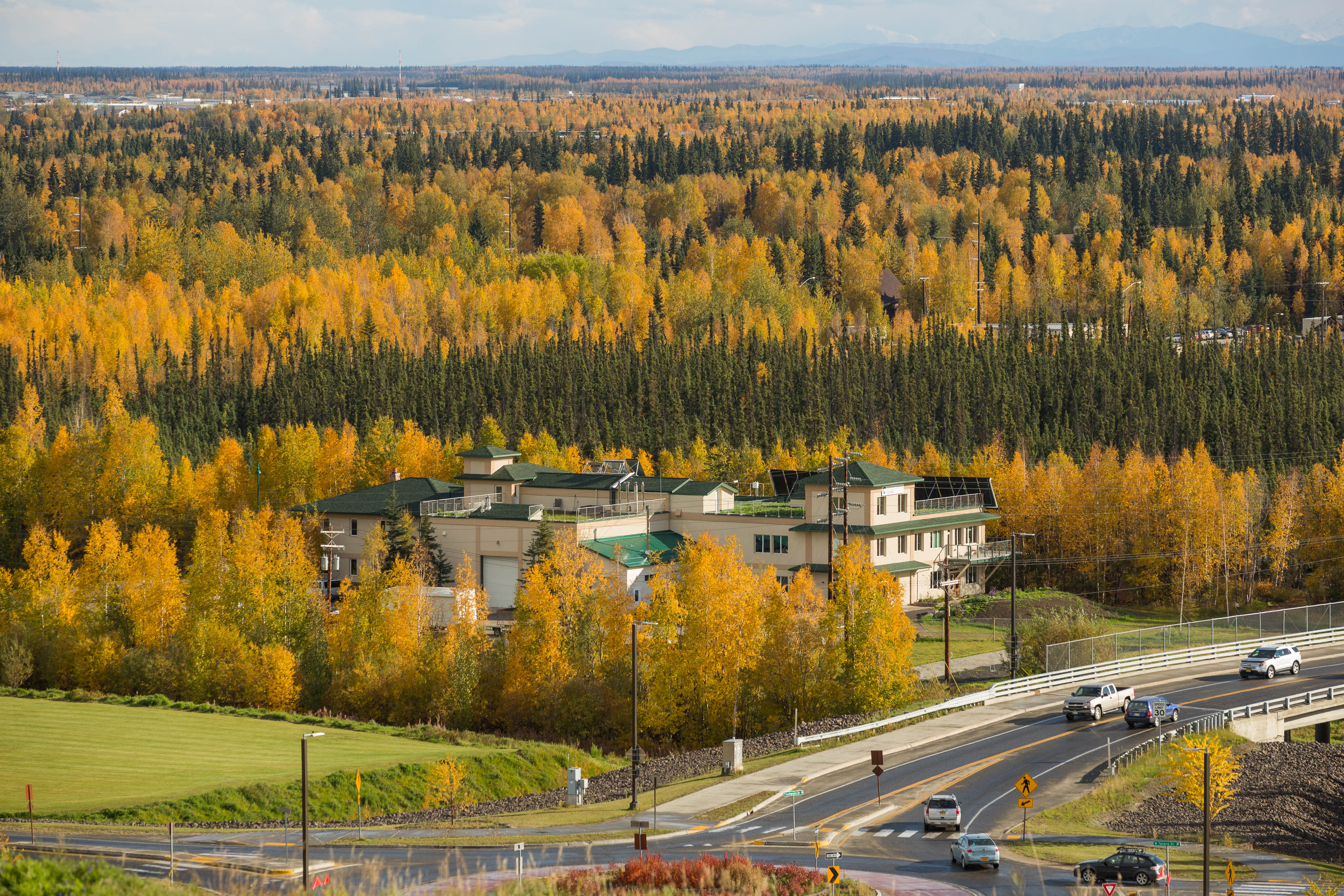 The Cold Climate Housing Research Center in Fairbanks on September 9, 2015. (Loren Holmes / Alaska Dispatch News)