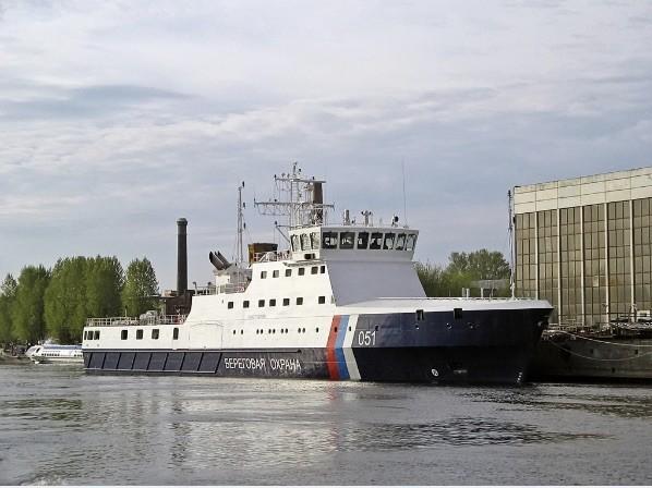 FSB builds new ice-breaking coast guard vessel
