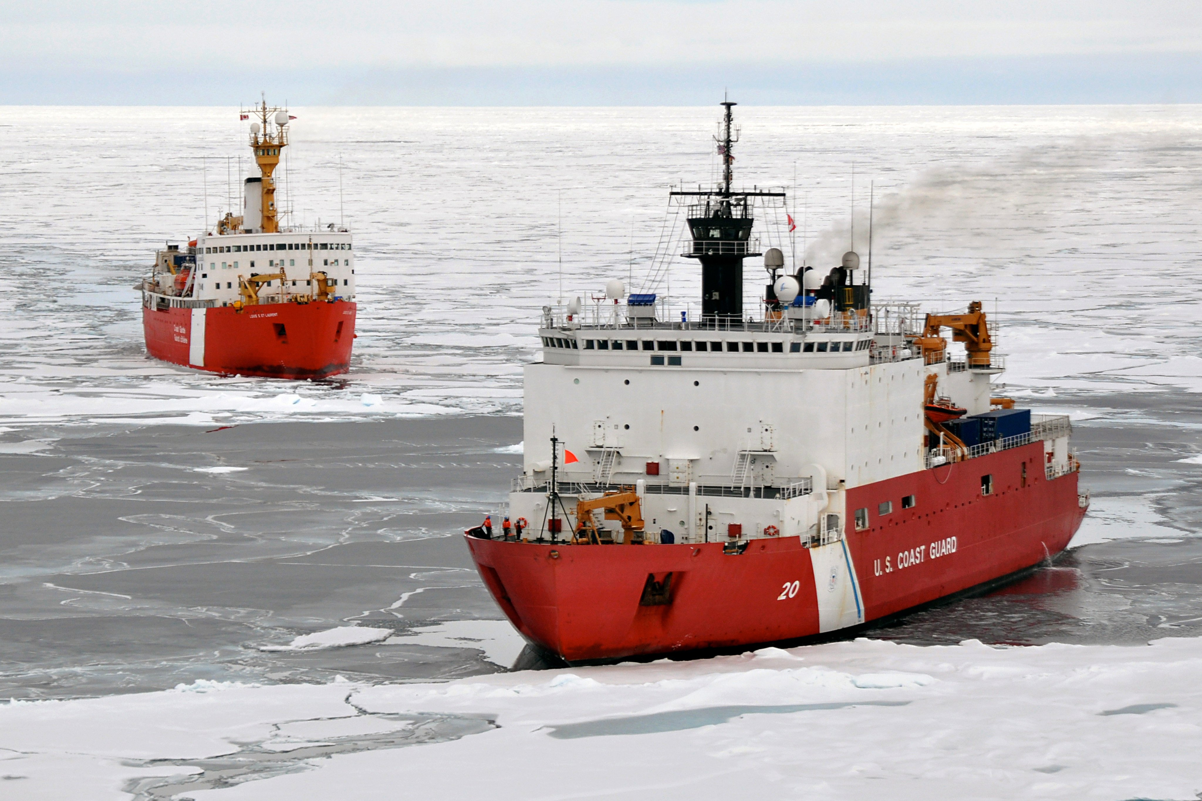 Canada finishes collecting data for its claim to territory on the Arctic continental shelf