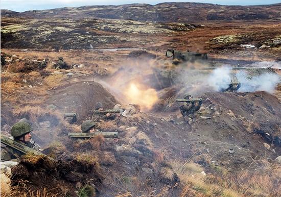 Russian military wraps up exercise near Norwegian border