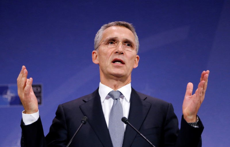 NATO chief tells Trump: no conditions on defending allies
