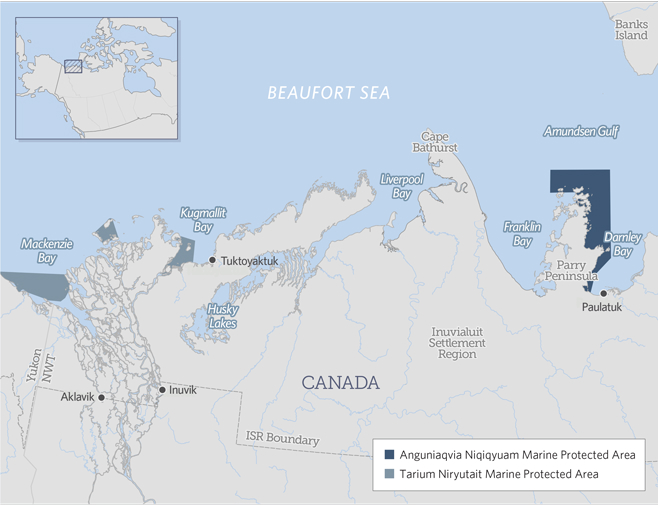 Inuvialuit, environmentalists praise new marine protected area in Canadian Arctic