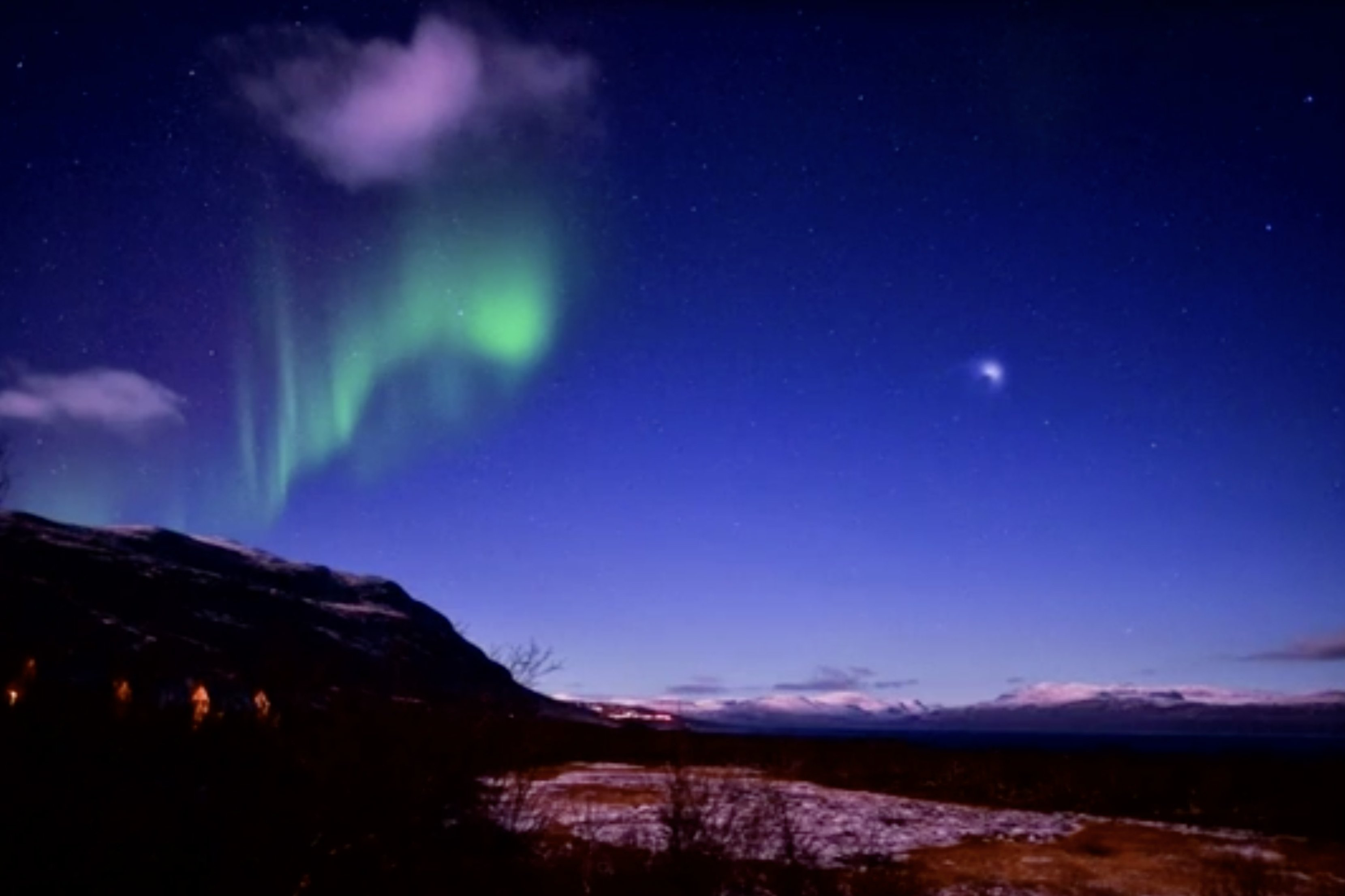 Magnificent lights over Sweden likely caused by rocket fuel: tour operator