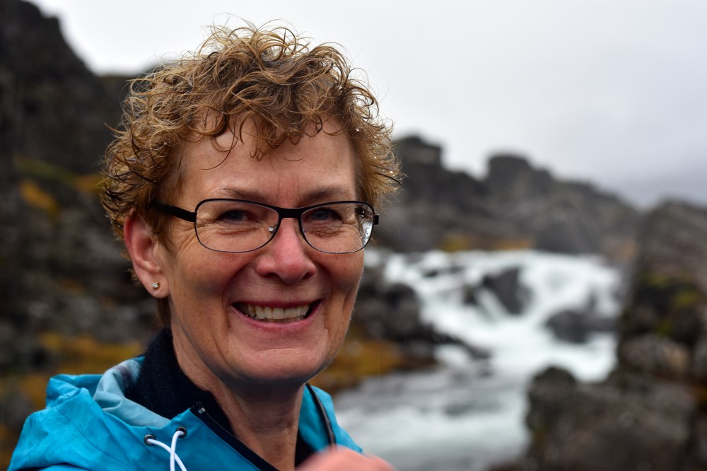 Sigrún Stefánsdóttir is studying to become a guide. (Thomas Nilsen / The Independent Barents Observer)