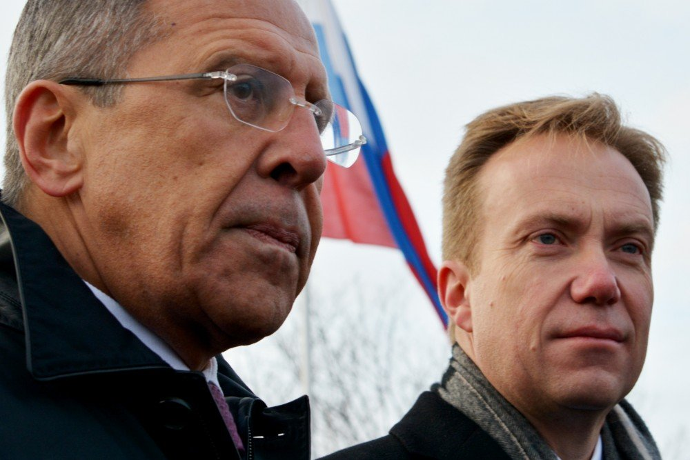 Sergey Lavrov's last visit to Norway was in October 2014 when Børge Brende invited him to celebrate the 70th anniversary of the Red Army's liberation of Finnmark. (Thomas Nilsen / The Independent Barents Observer)