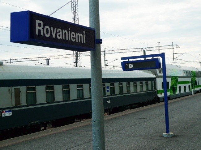 Rovaniemi, in Finland's north, could be a key point in the new Arctic rail project. (Thomas Nilsen / The Independent Barents Observer)