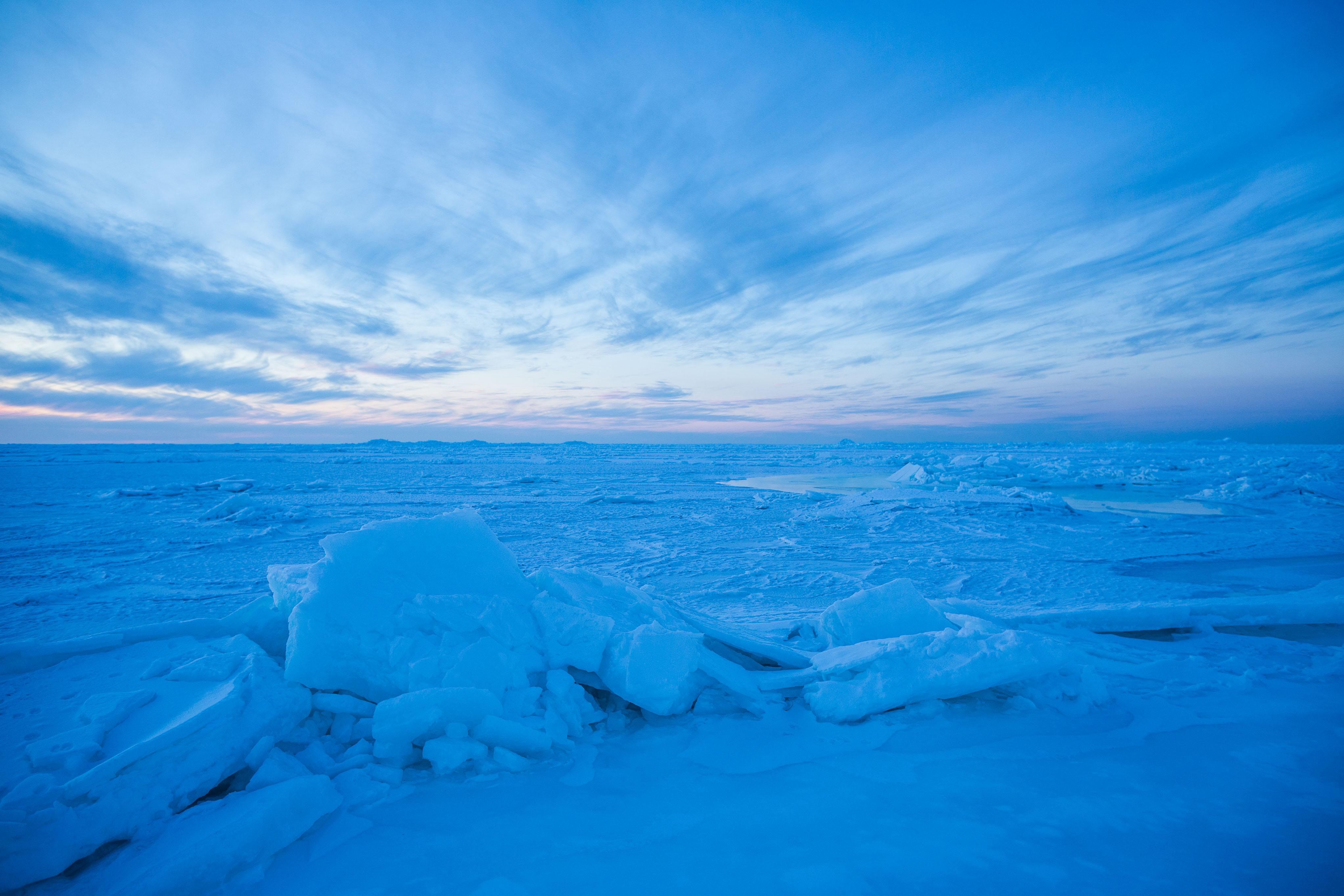 Sea ice in the Chukchi Sea, in Alaska's Arctic Ocean, near the village of Kivalina. December 10, 2012. (Loren Holmes / Alaska Dispatch News)