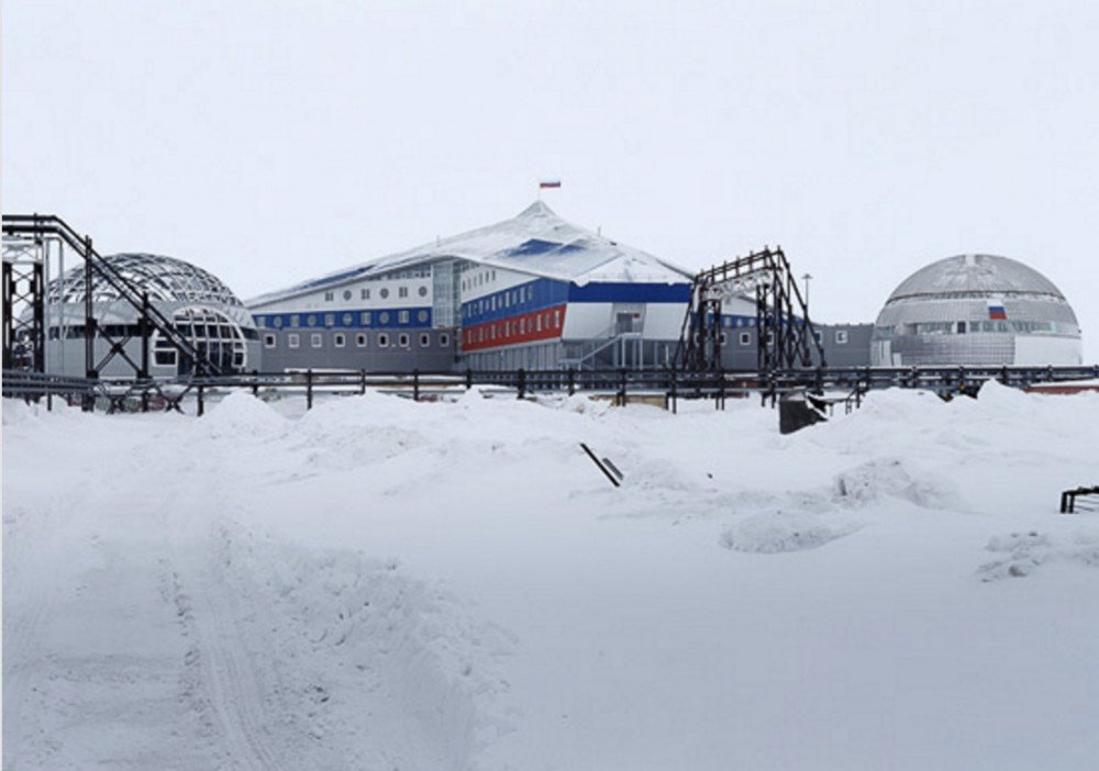 New Arctic military base is declared ready for operation