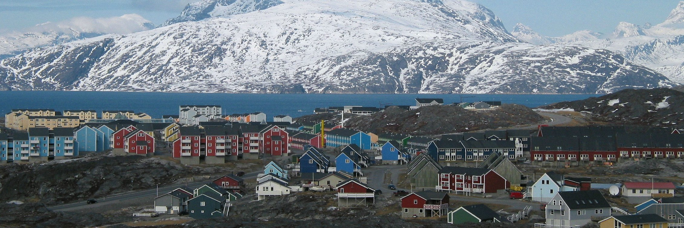 Nuuk, Greenland's capital, played host to the 2016 Arctic Winter Games. Will hosting the games raise Greenland's global profile (Oliver Schauf via Wikimedia Commons)