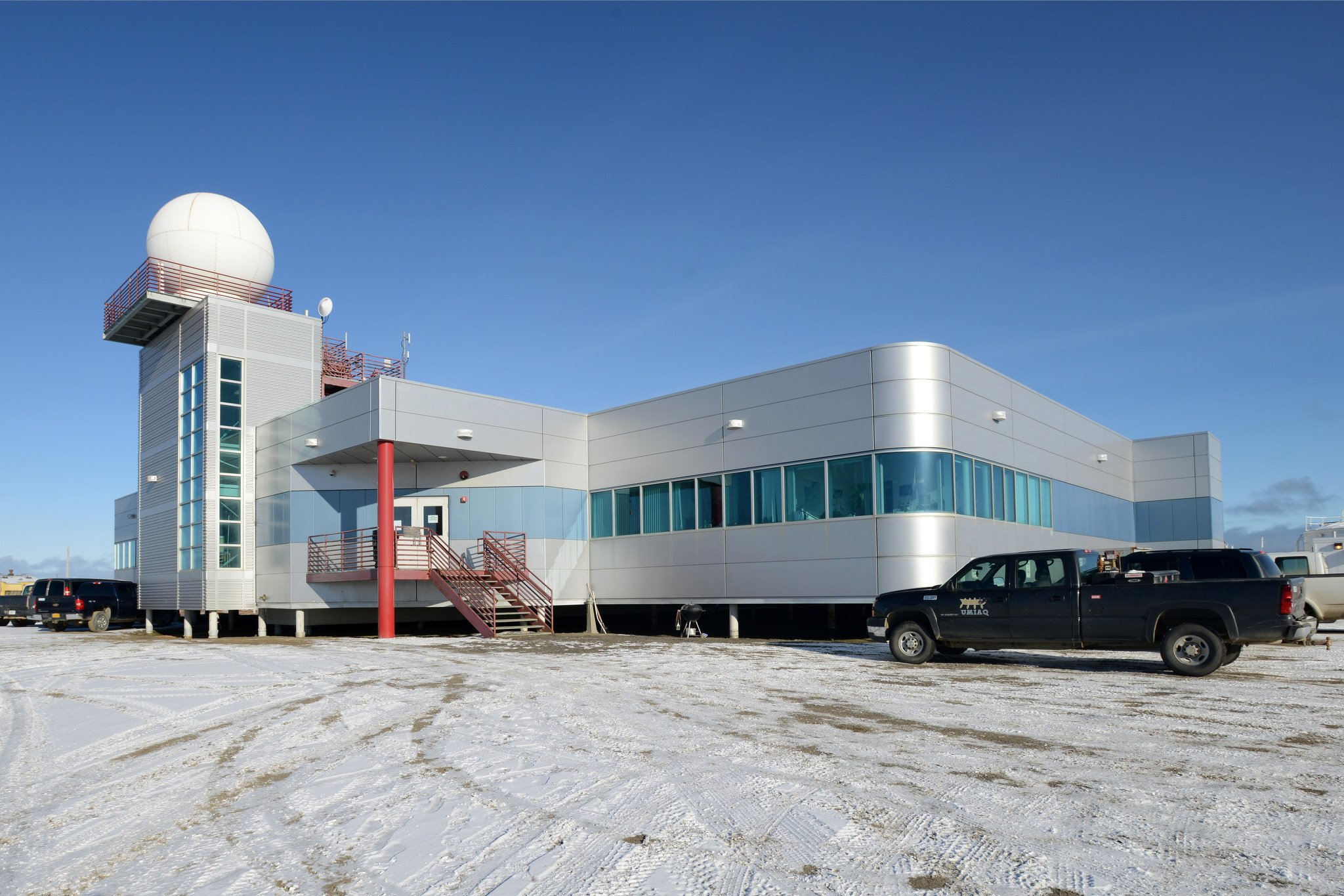 The Barrow Arctic Research Center photographed on Wednesday, September 23, 2015, in Barrow. (Erik Hill / Alaska Dispatch News)