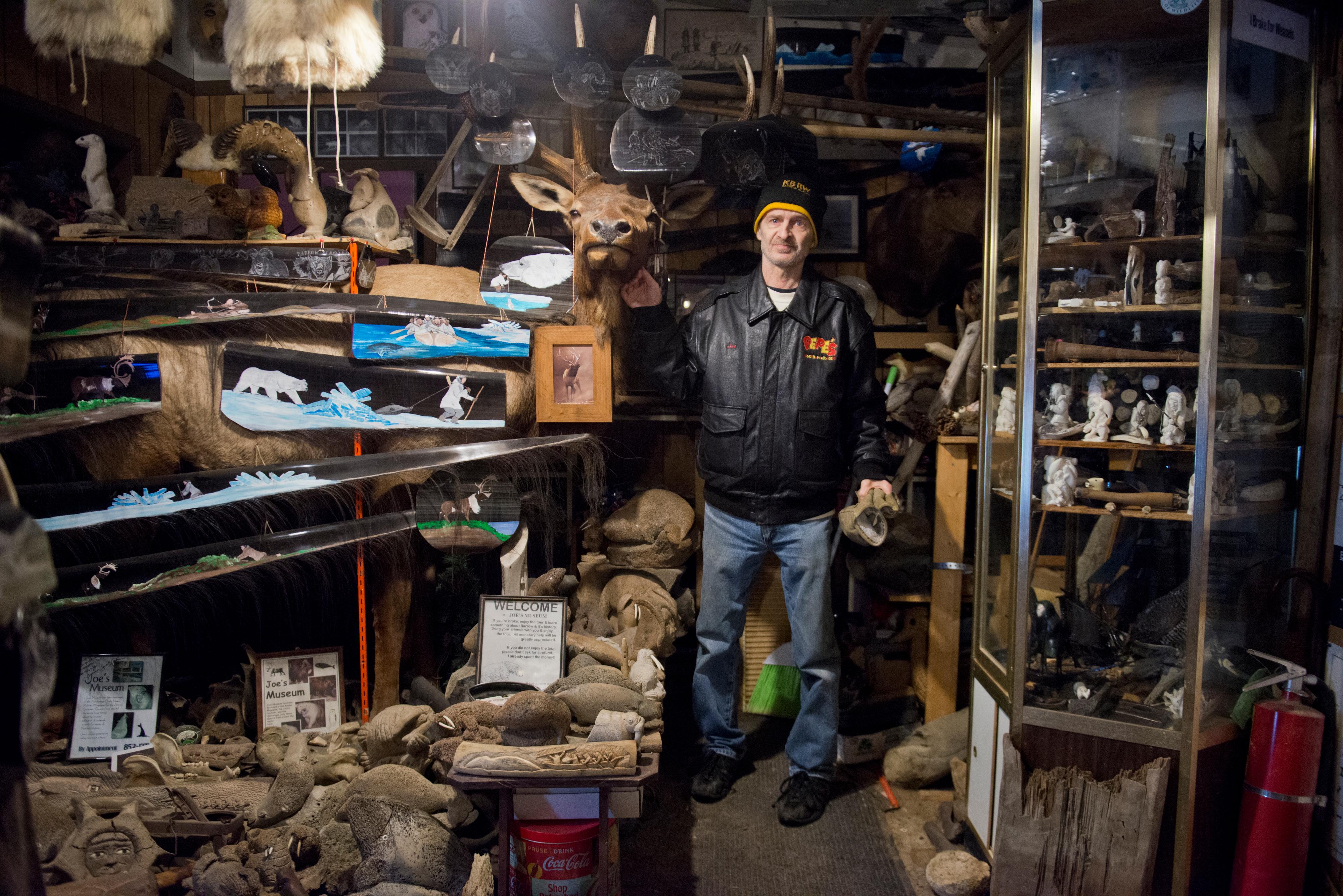 In Utqiagvik, Joe the Waterman made an Alaska museum like no other
