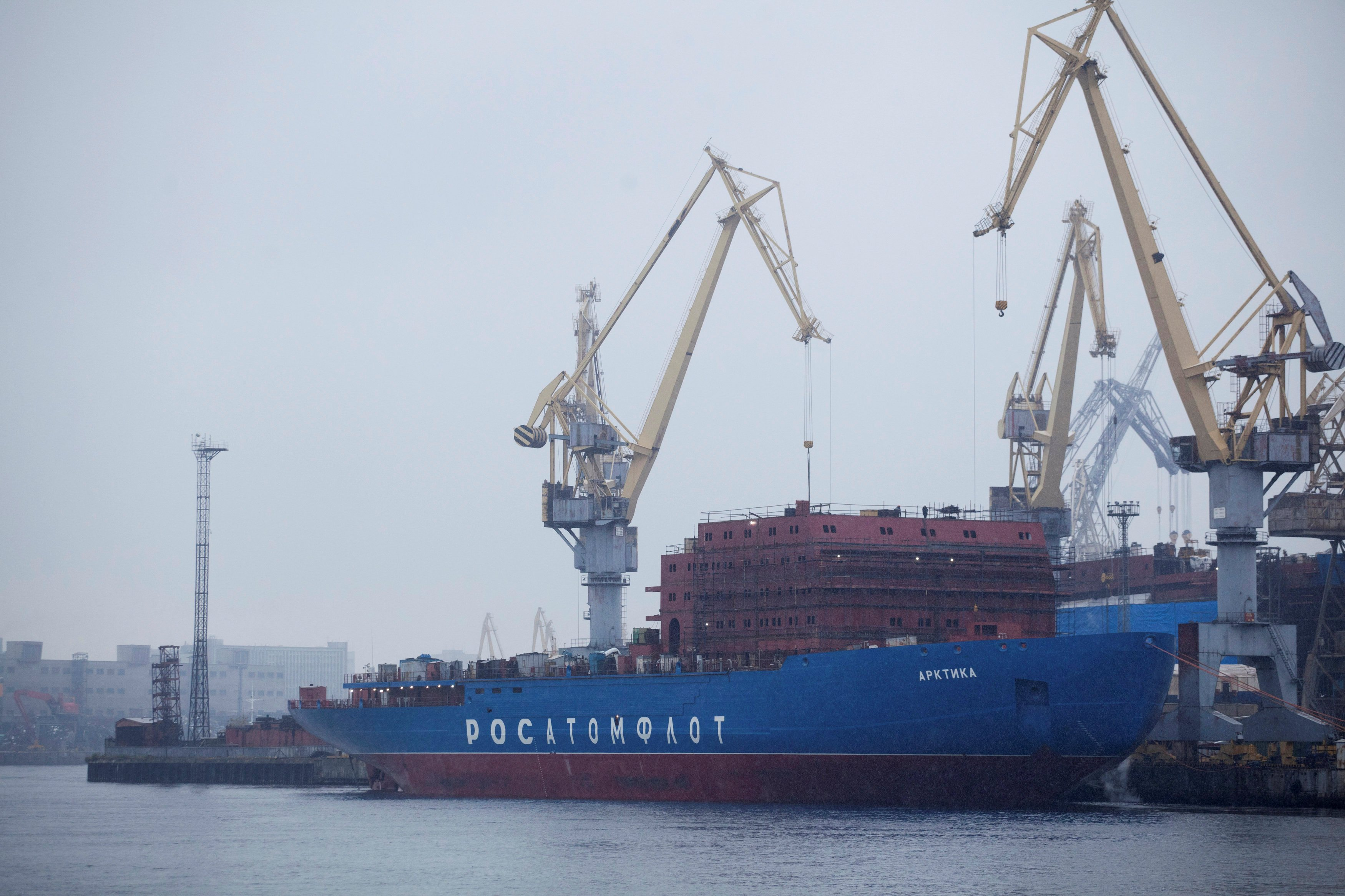 Russia looks to add new nuclear icebreaking capacity