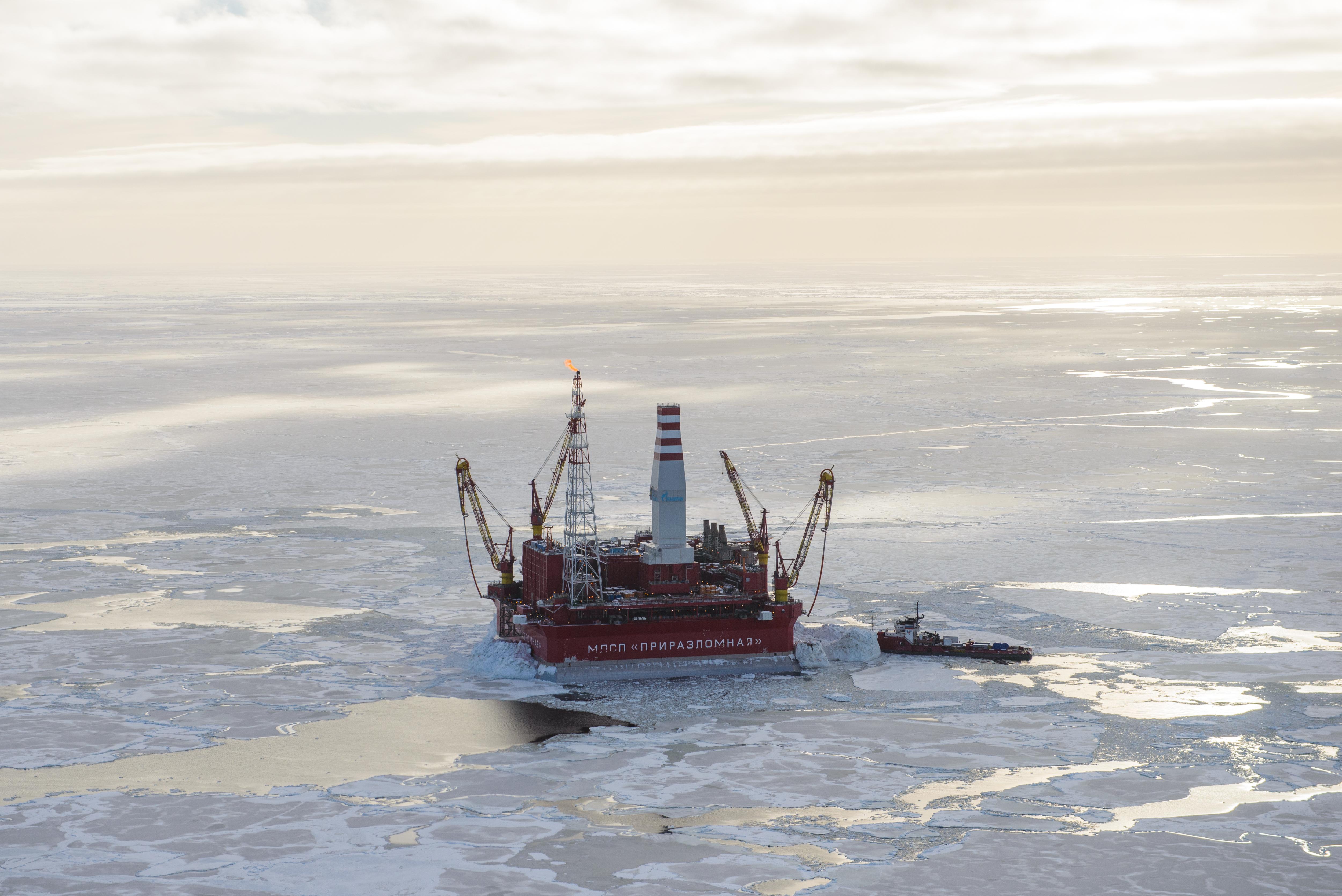 Russia's offshore Arctic platform Prirazlomnaya prepares to double production