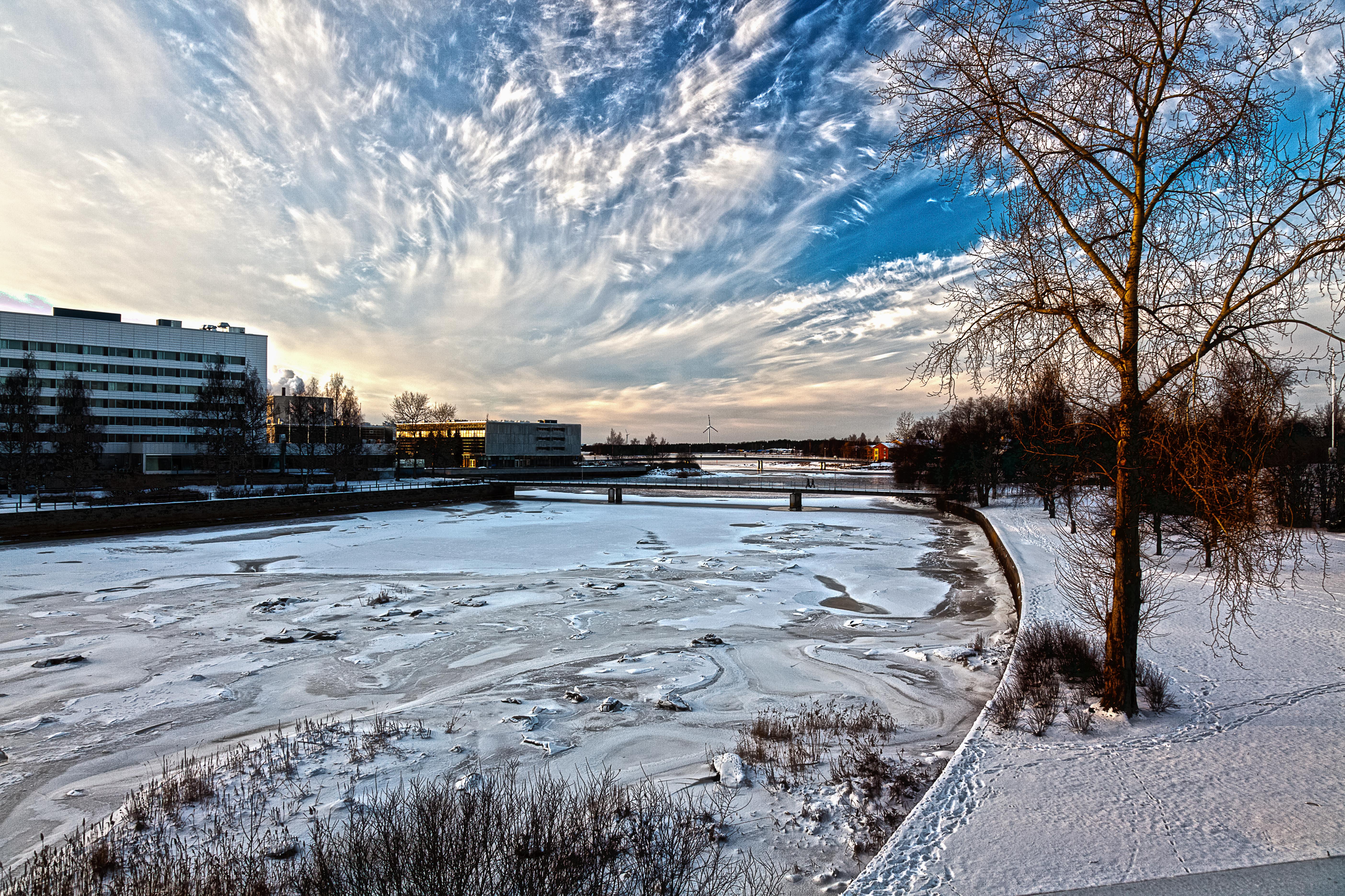 Winter in Oulu, Finland, 2015 (Thinkstock)