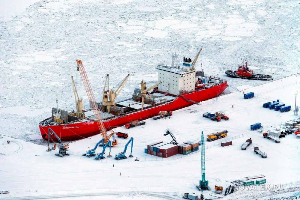 Russia's new Arctic port sees fivefold surge in goods