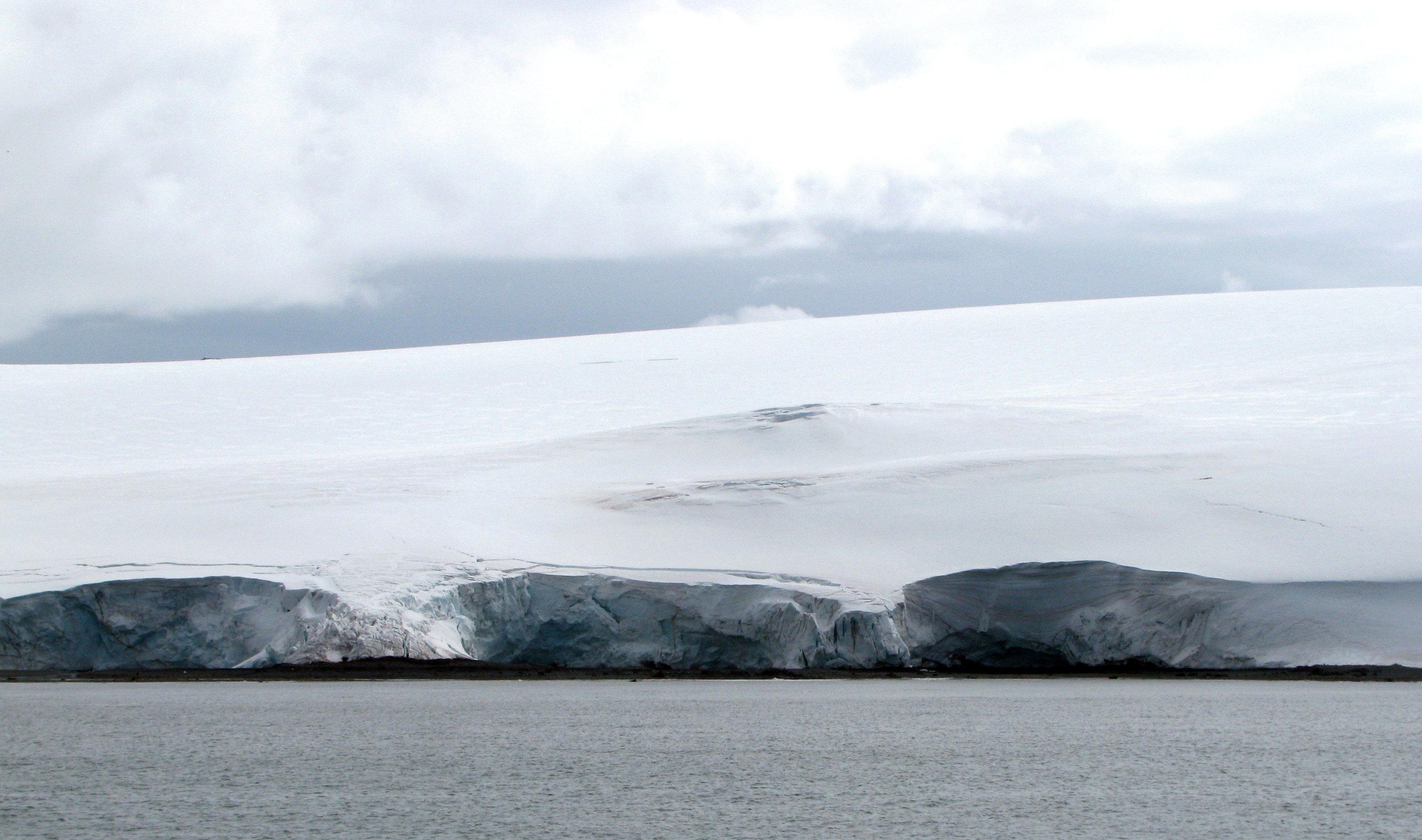Sea ice around Antarctica hits record low, preliminary US data show