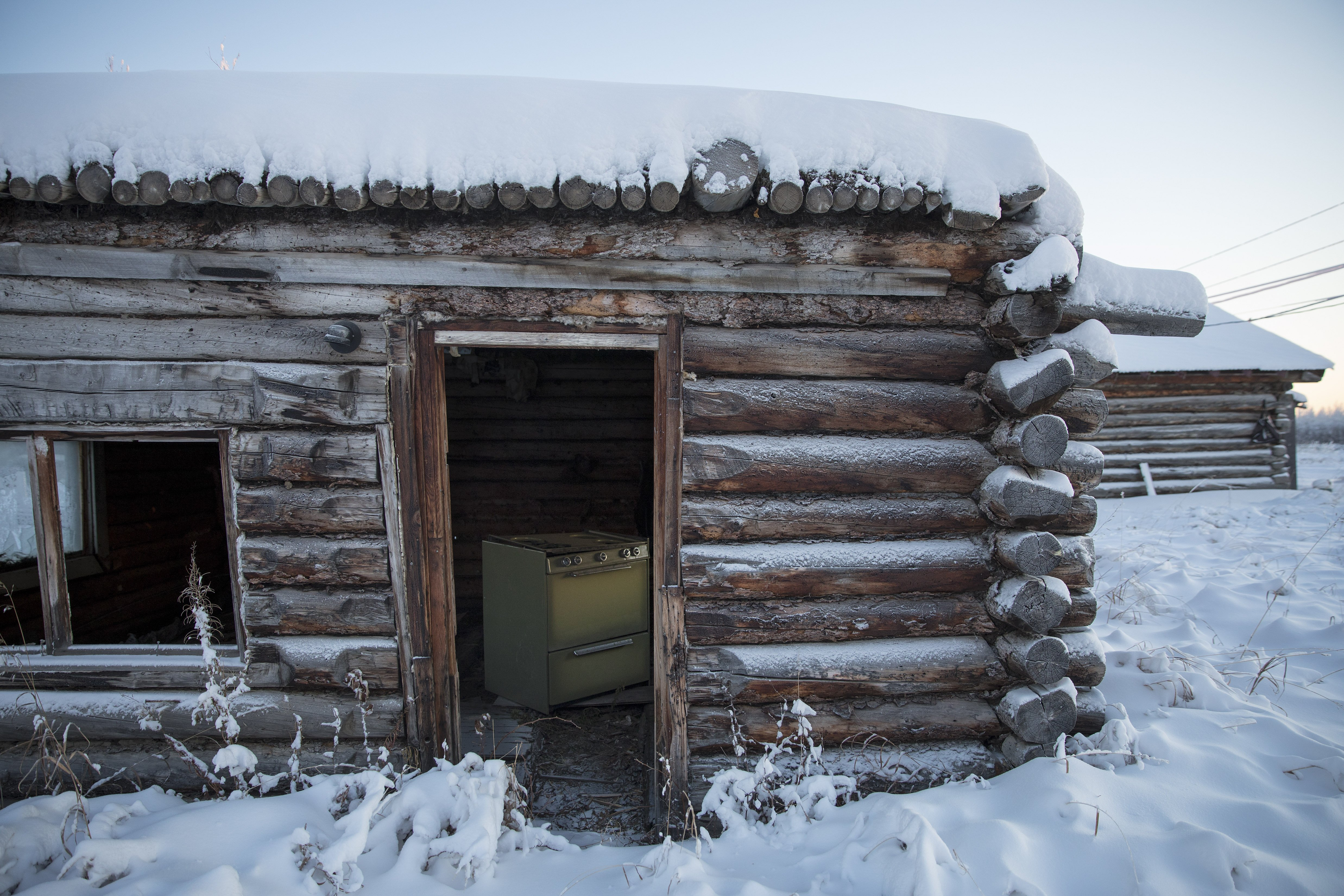 On Alaska's coldest days, a village draws close for warmth