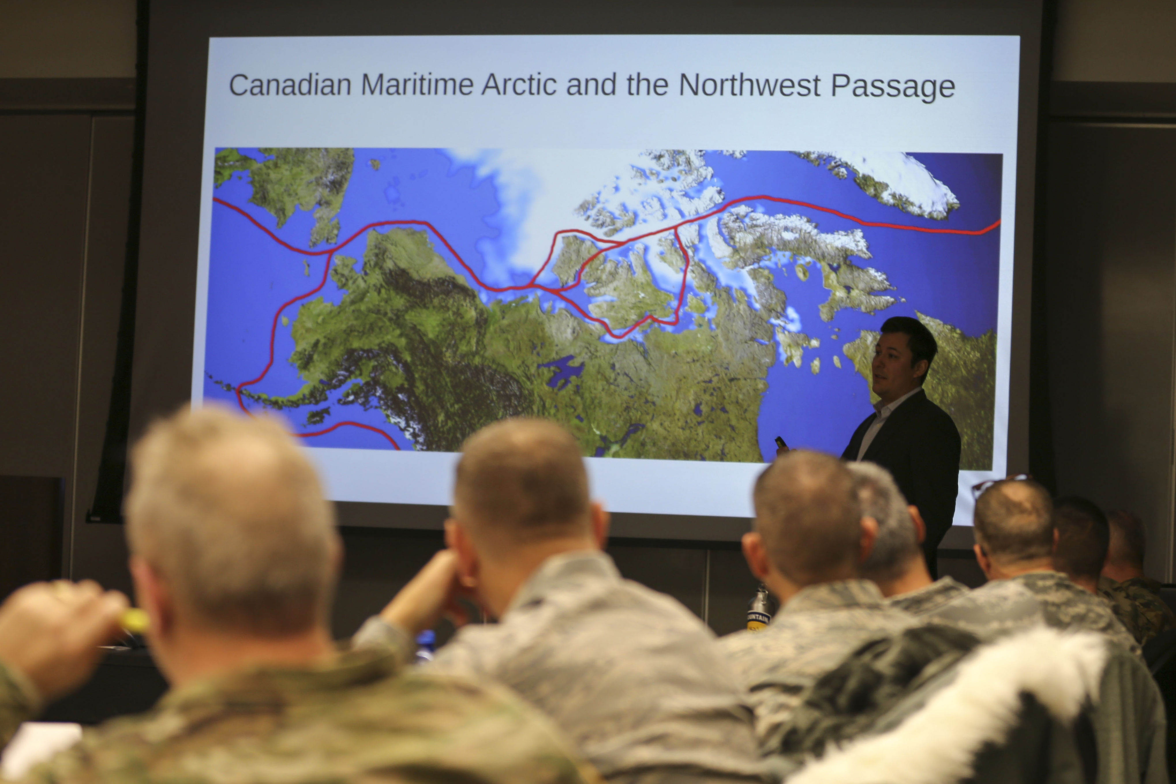 Increased activity in warming Arctic piques interest of Lower 48 National Guard leaders
