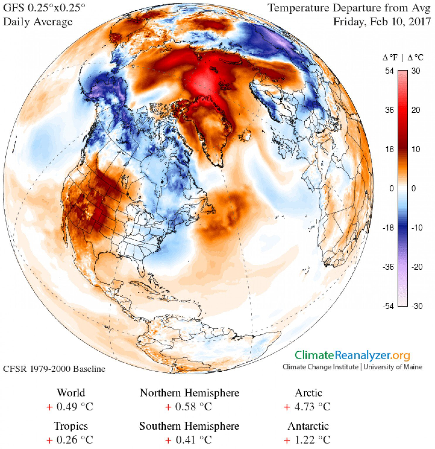 Temperatures in the Arctic are skyrocketing — for the third time this winter