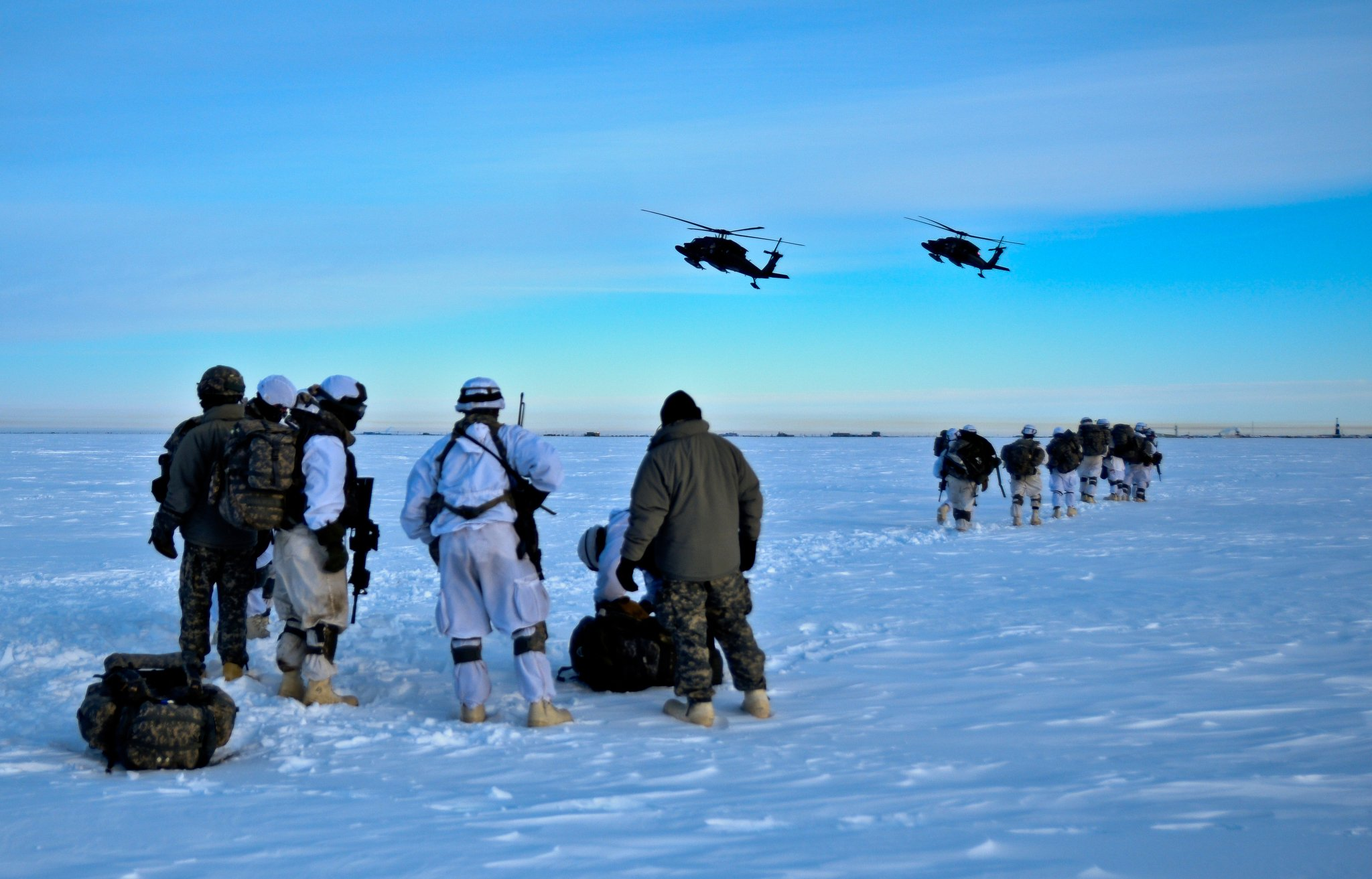 A new U.S. Defense Department Arctic Strategy sees growing uncertainty and tension in the region
