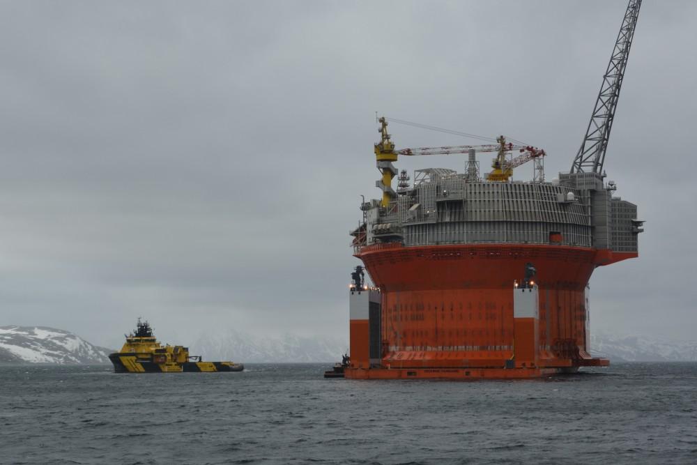 Norway's Goliat oil platform is offline — again