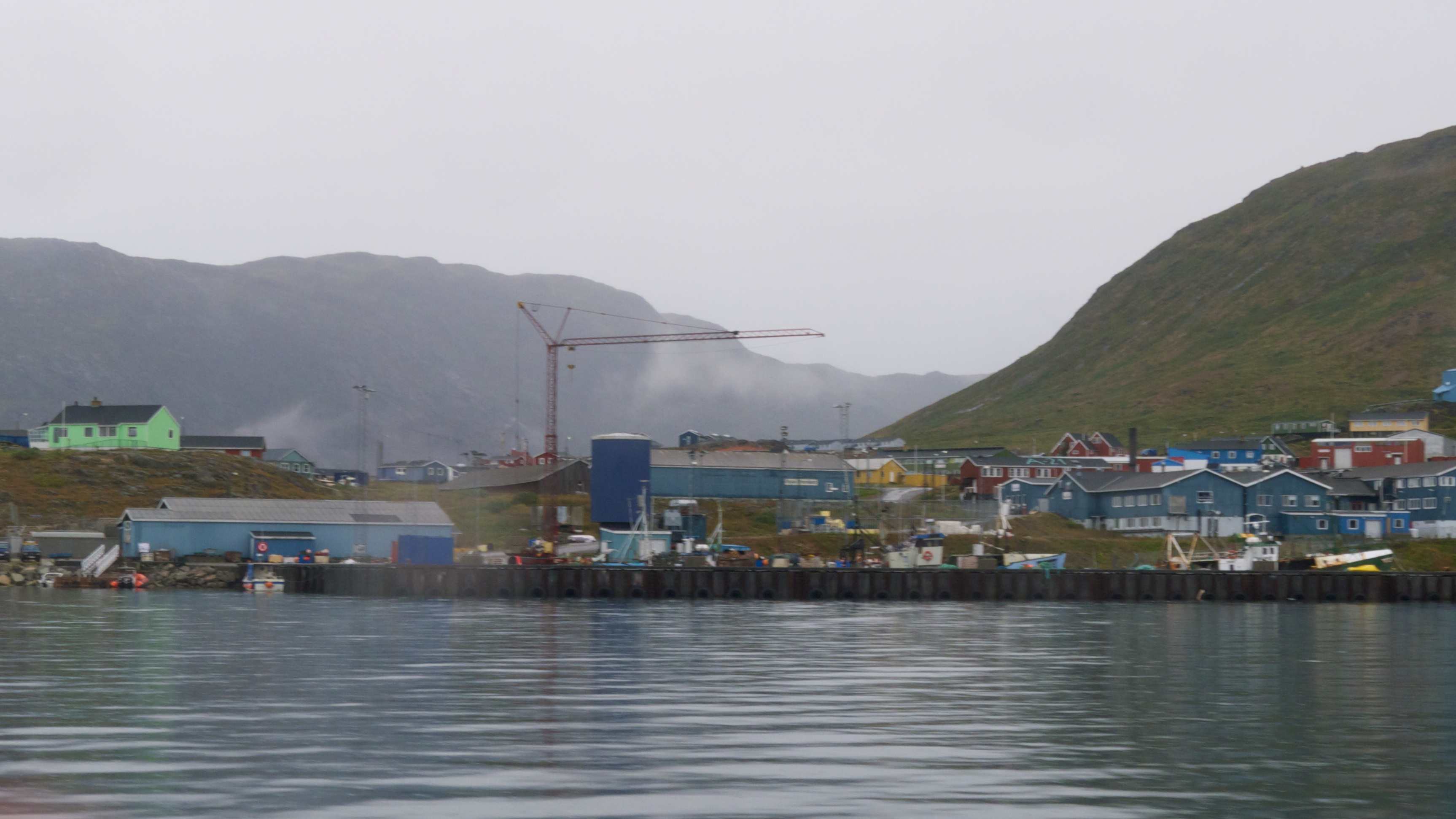 The port in Narsaq, Greenland, in 2011. (Claire Rowland / CC via Flickr)