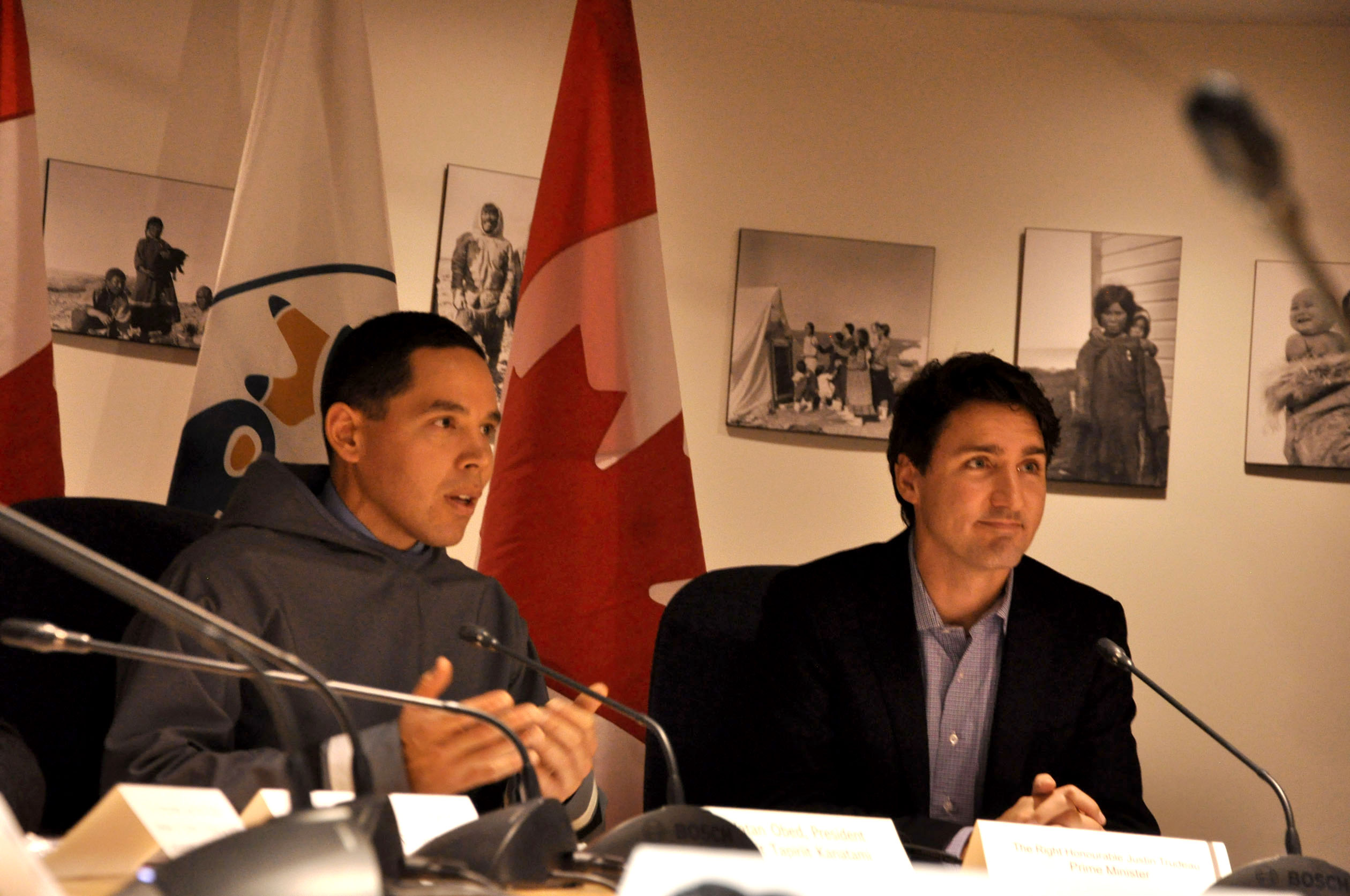 Trudeau, Canadian Inuit group launch joint working group