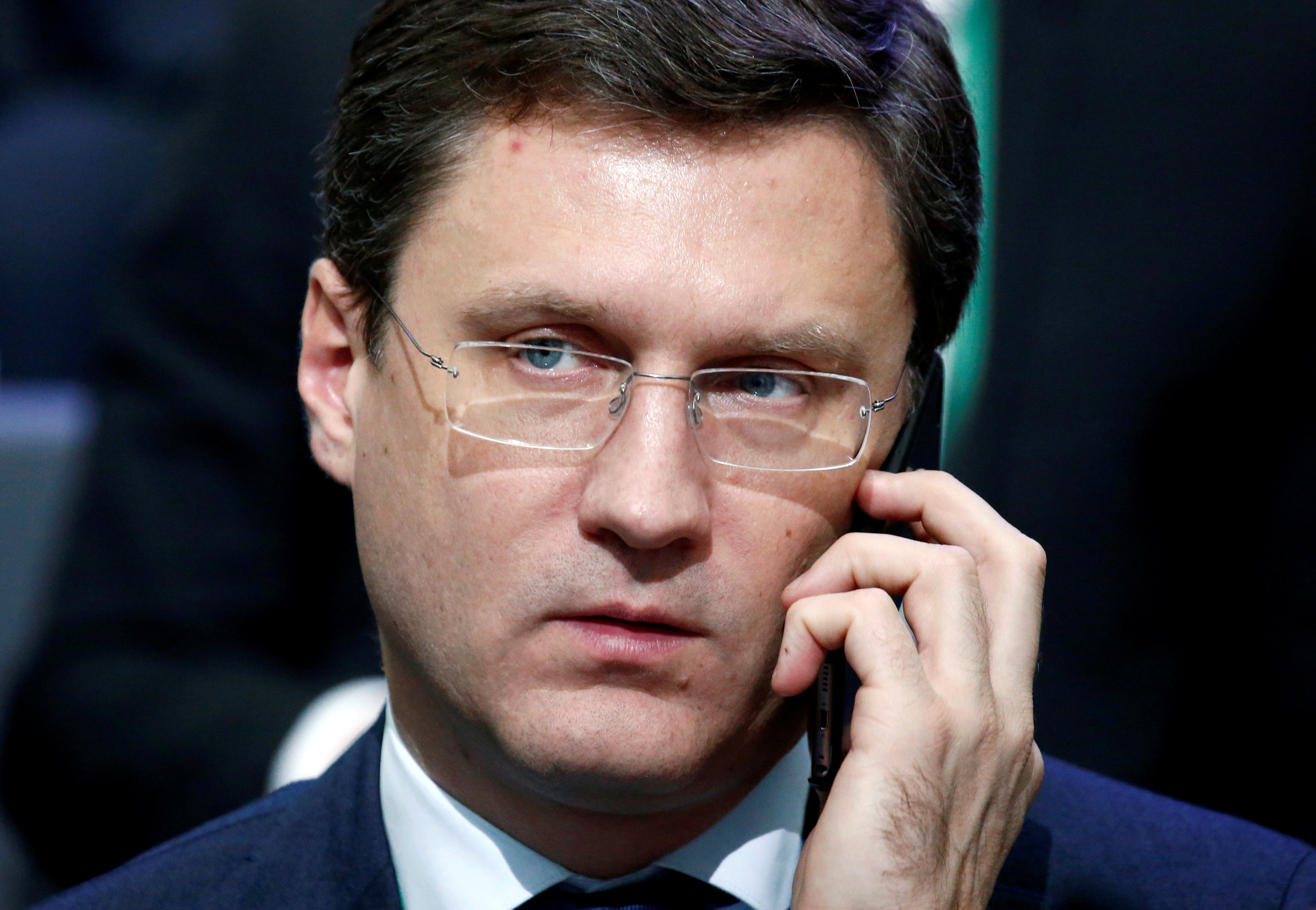 Russian Energy Minister Alexander Novak attends a conference dedicated to the 175th anniversary of Sberbank in Moscow, Russia, November 10, 2016.   (Sergei Karpukhin / Reuters File Photo)