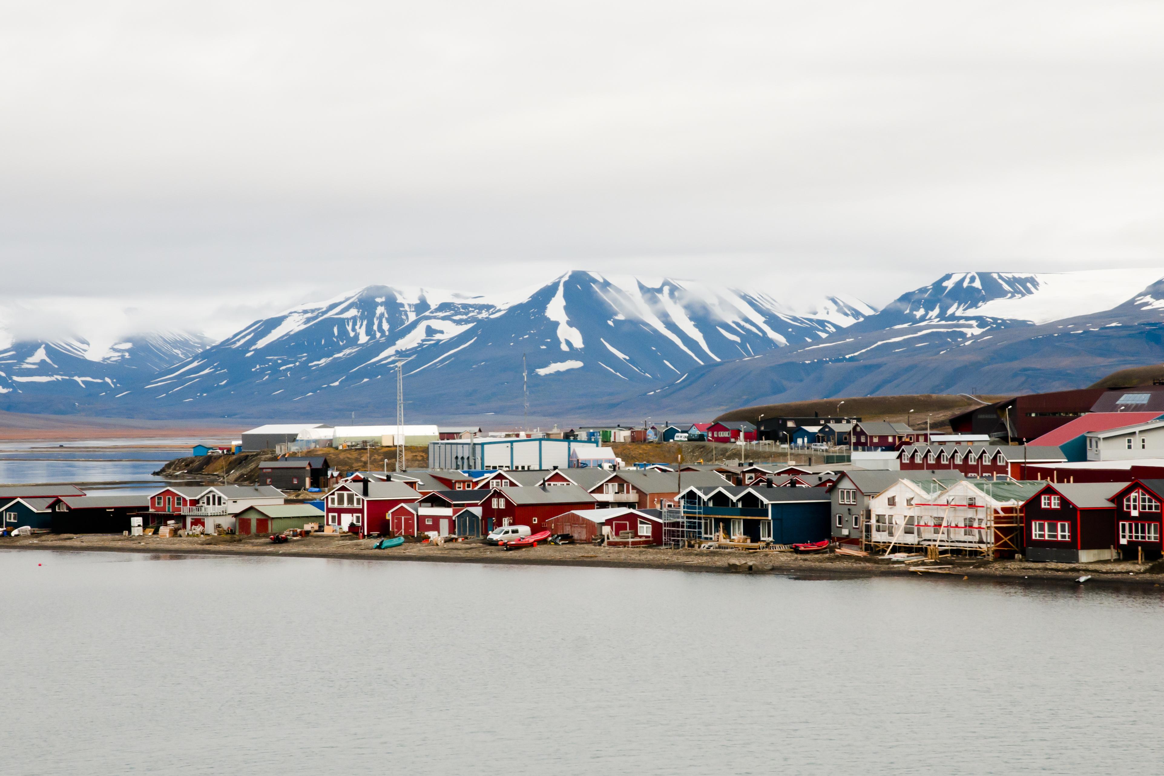 Longyearbyen in Svalbard. (Getty)