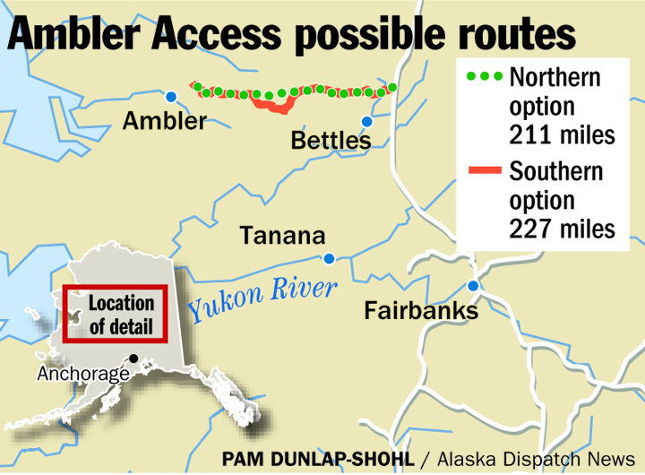 Feds begin review of controversial mining road in Arctic Alaska