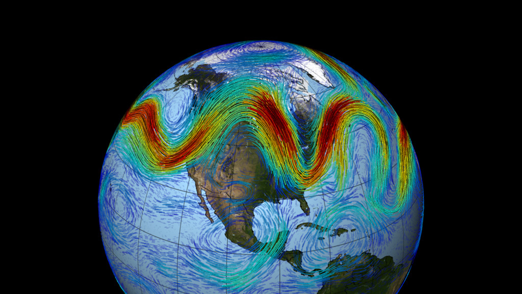 Study: Global warming is affecting the jet stream so that extreme weather is more likely to persist for longer periods