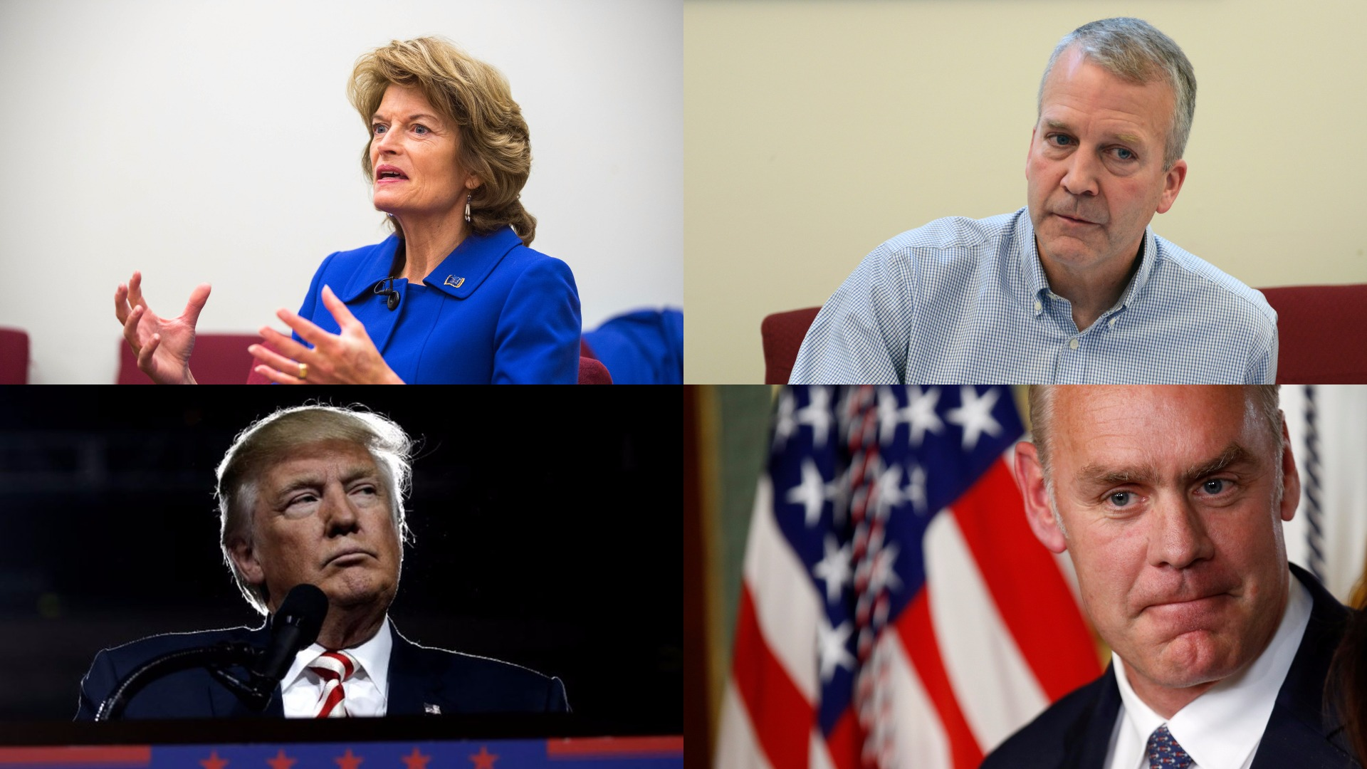 10 things — including the Arctic — Alaska senators discussed in meeting with Trump and Zinke