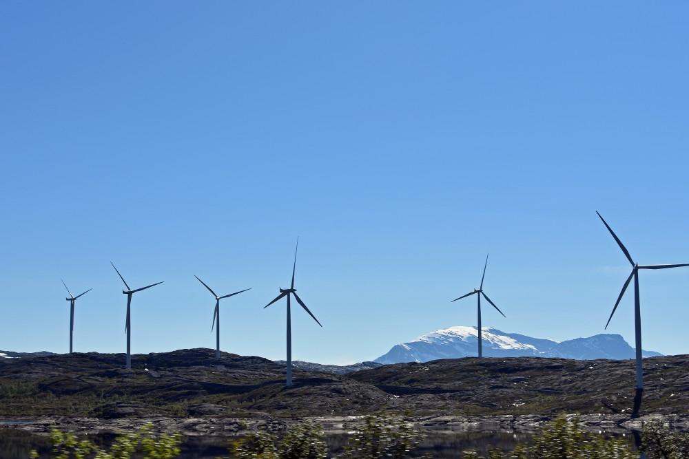 Wind mills at Riksgrensen, Nordland county. (Thomas Nilsen / The Independent Barents Observer)