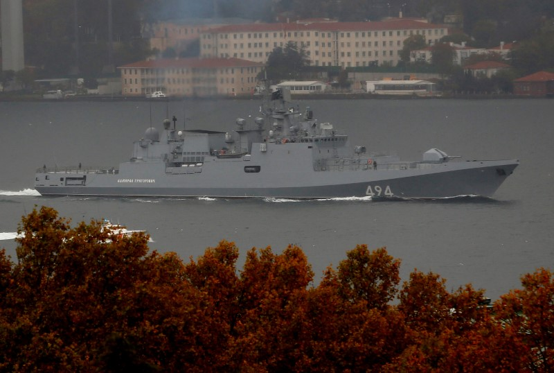 Russian naval activity in Europe exceeds Cold War levels: U.S. admiral