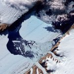 Scientists just found a strange and worrying crack in one of Greenland's biggest glaciers