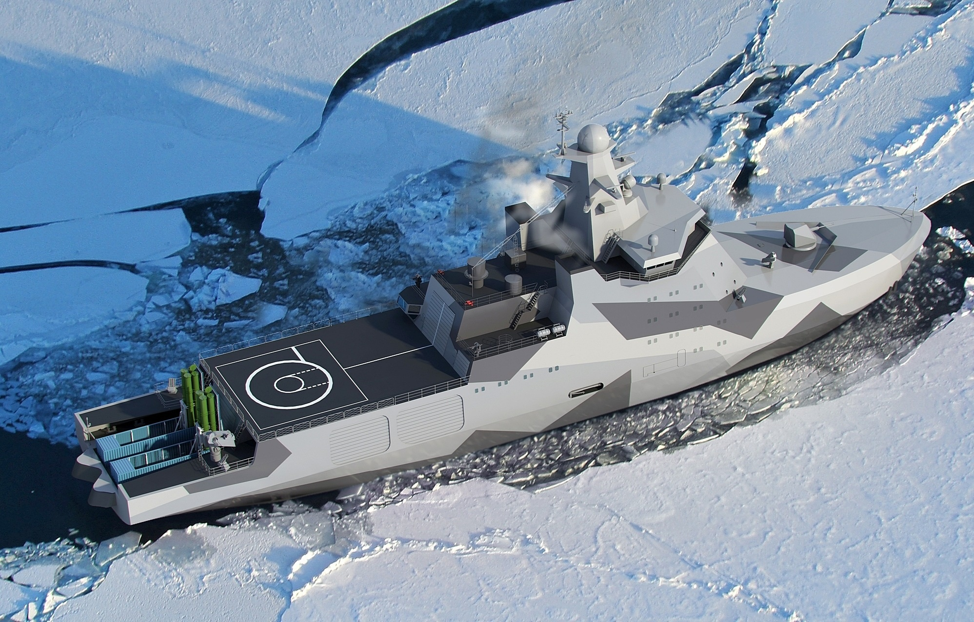 Construction begins on Russian Navy's first Arctic patrol ship