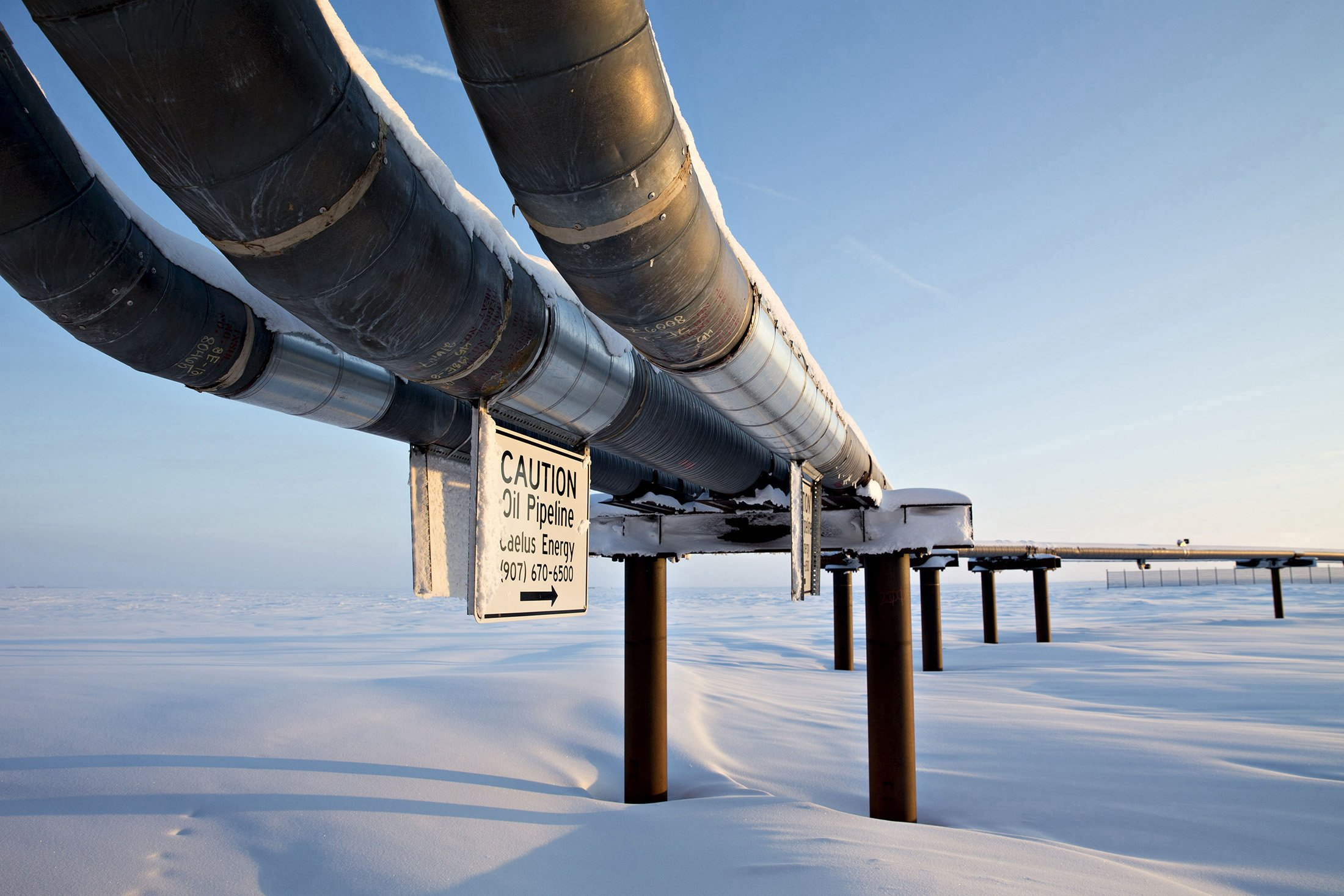 A big North Slope oil field remains alive despite bankruptcy, isolation