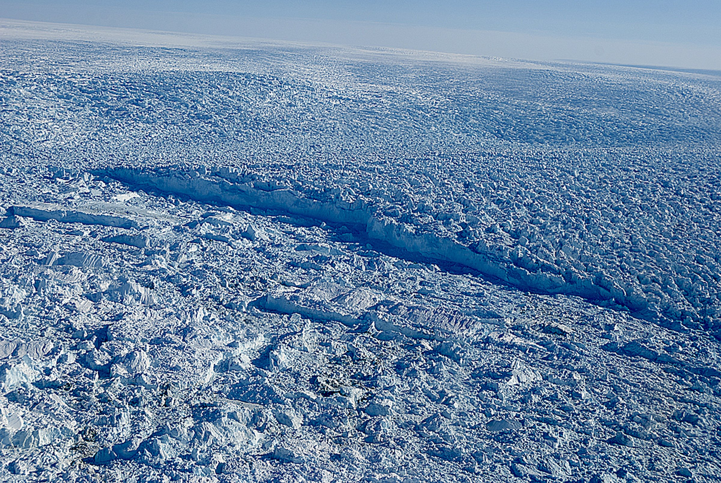 A glacier that was once Greenland's fastest melting is growing again — for now