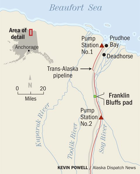 Explorer plans first test of fracking potential in North Slope shale