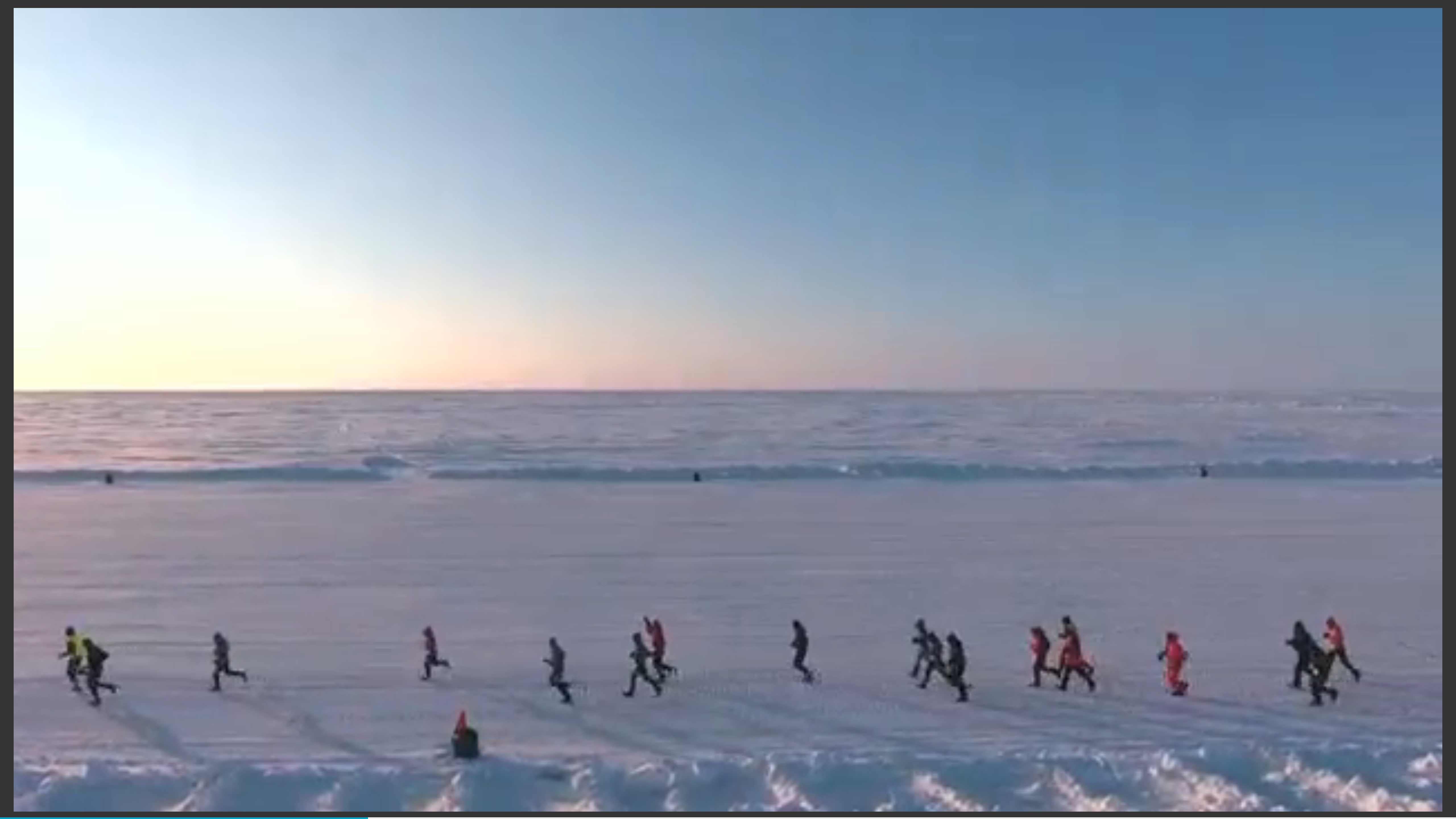 Runners brave cold and snow for North Pole marathon