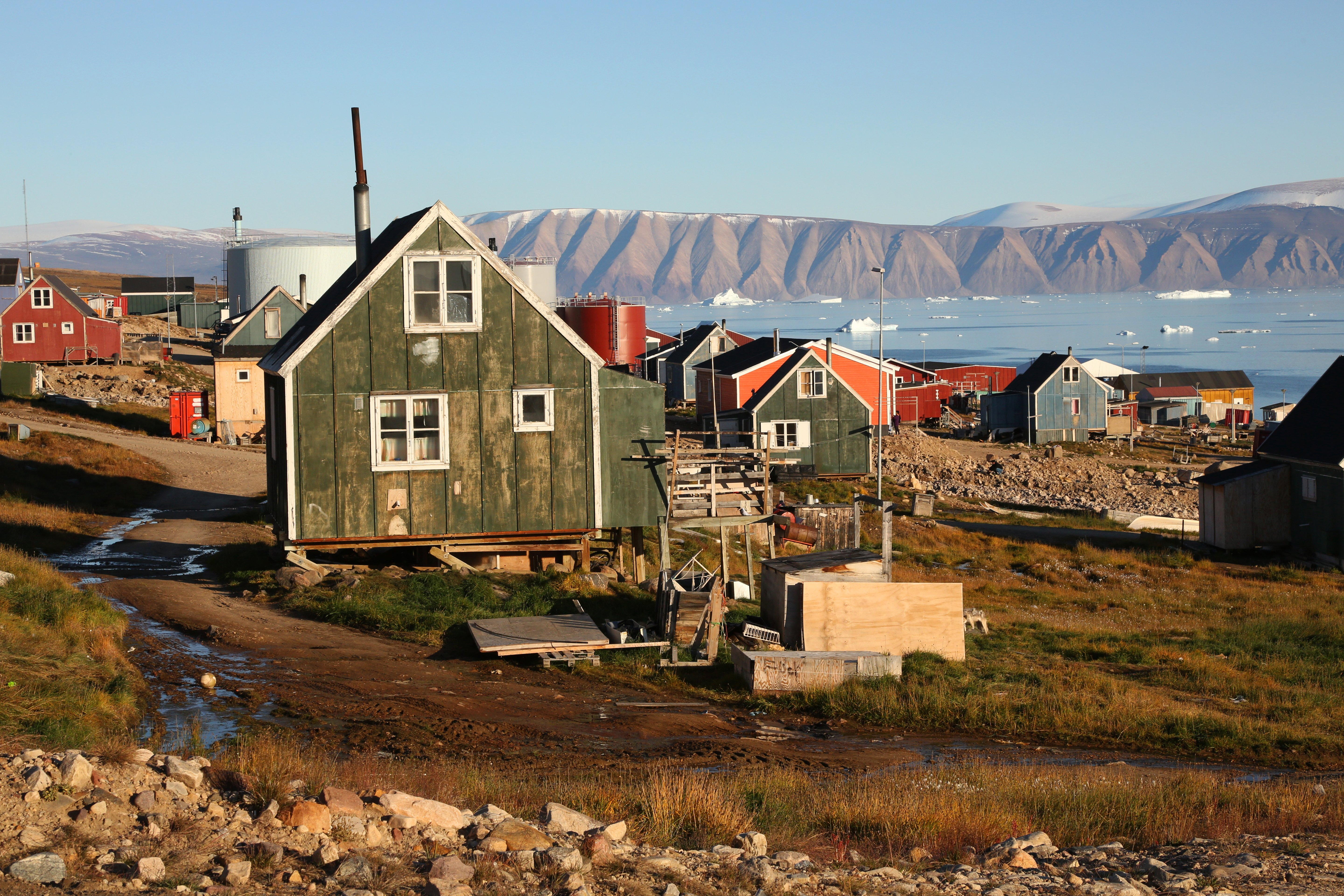 A way of life is melting away in Greenland