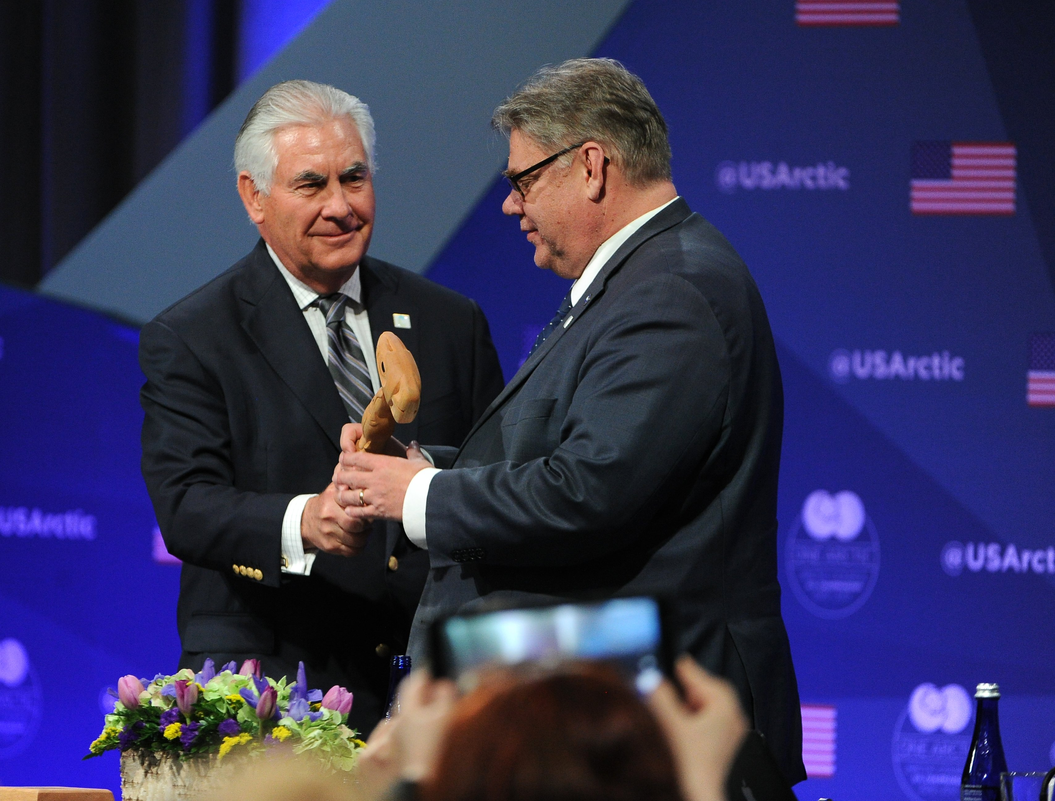 Tillerson: US lags 'behind all the other Arctic nations'