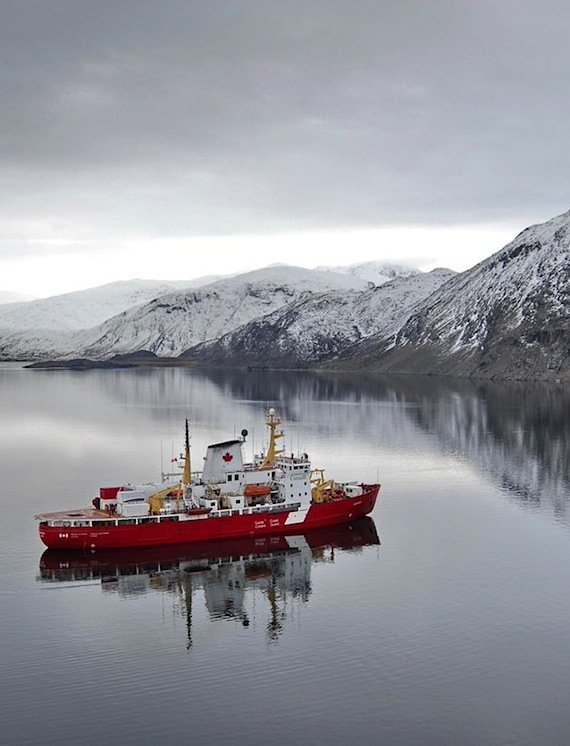 Canadian Arctic icebreaking and sealift season starts early